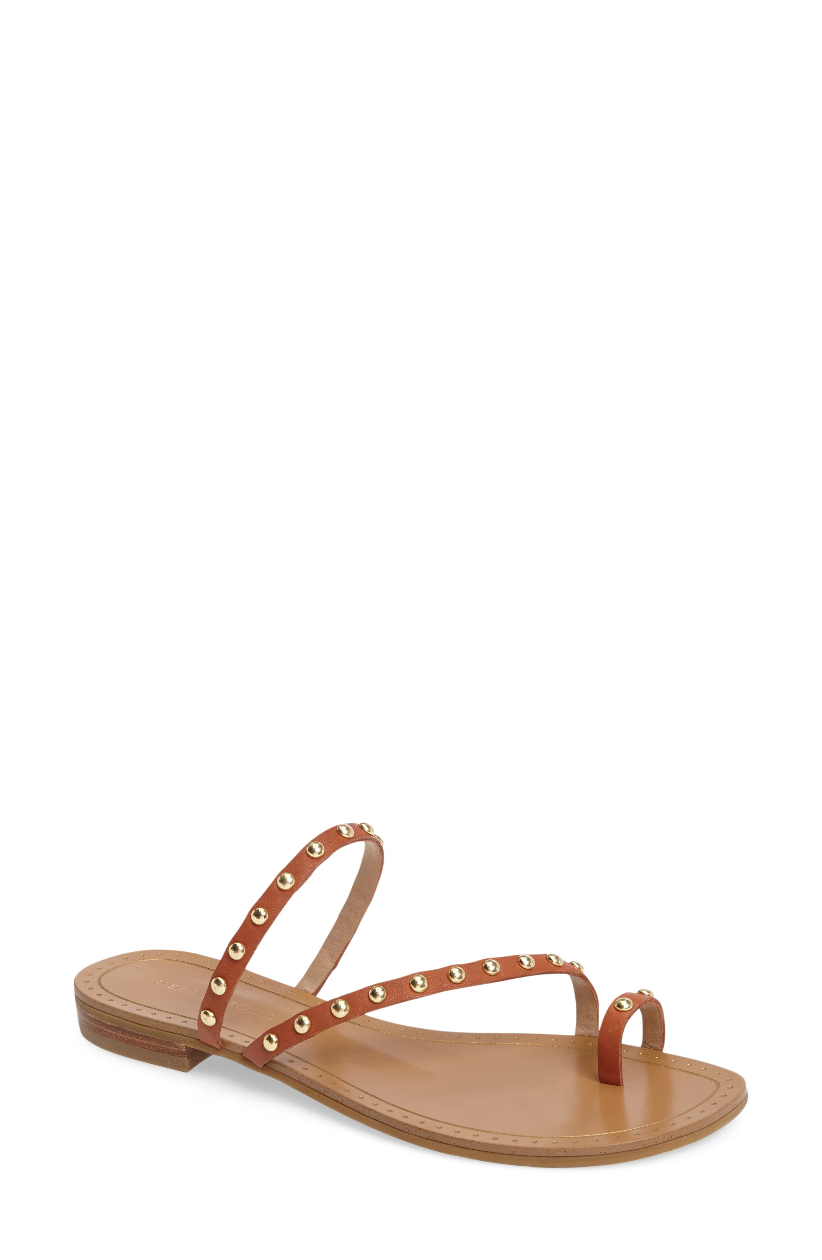 Alternate Image 1 Selected - Pelle Moda Bohem 2 Studded Sandal (Women)