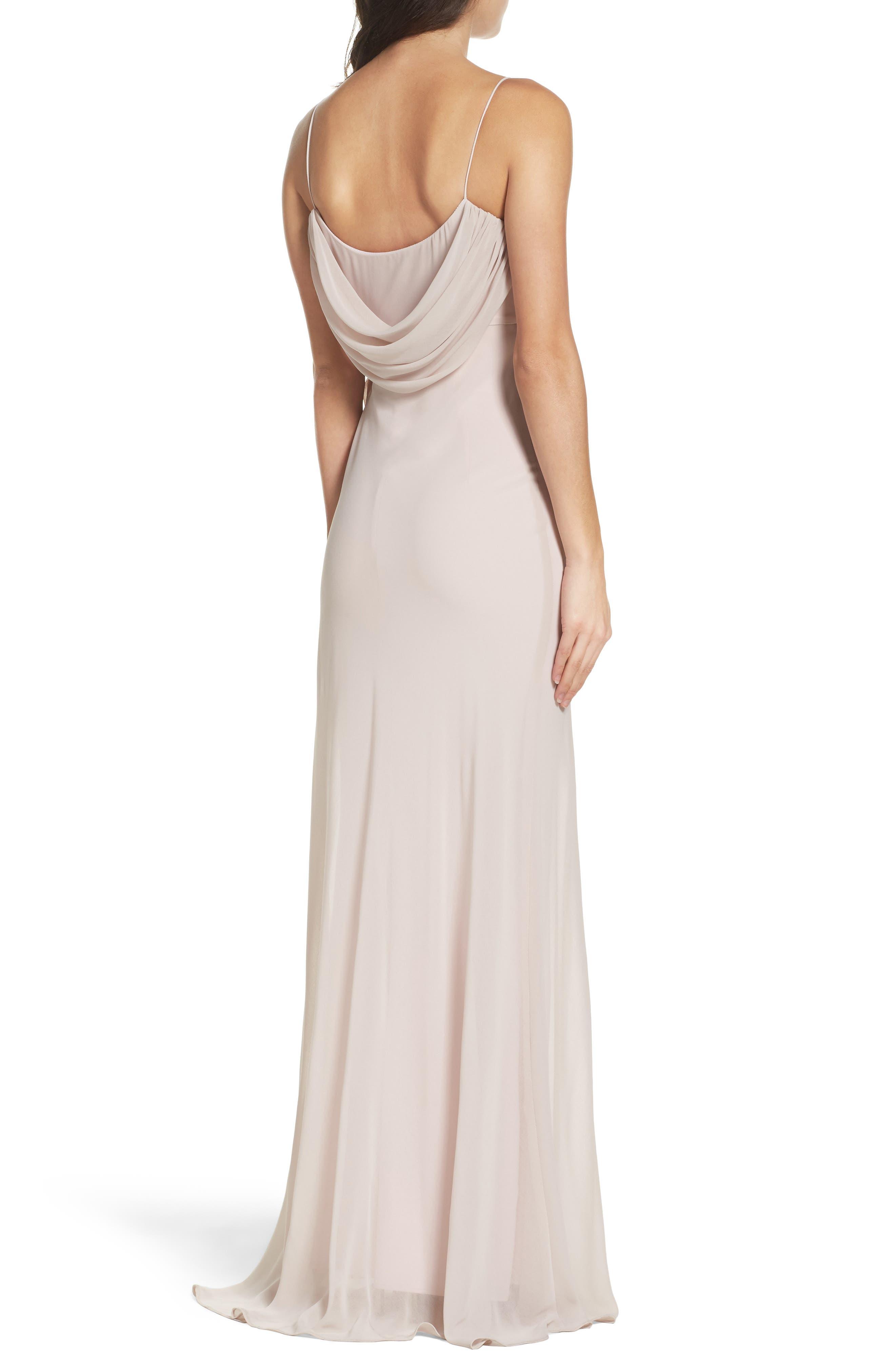 Alternate Image 2  - Katie May Eden Chiffon Gown