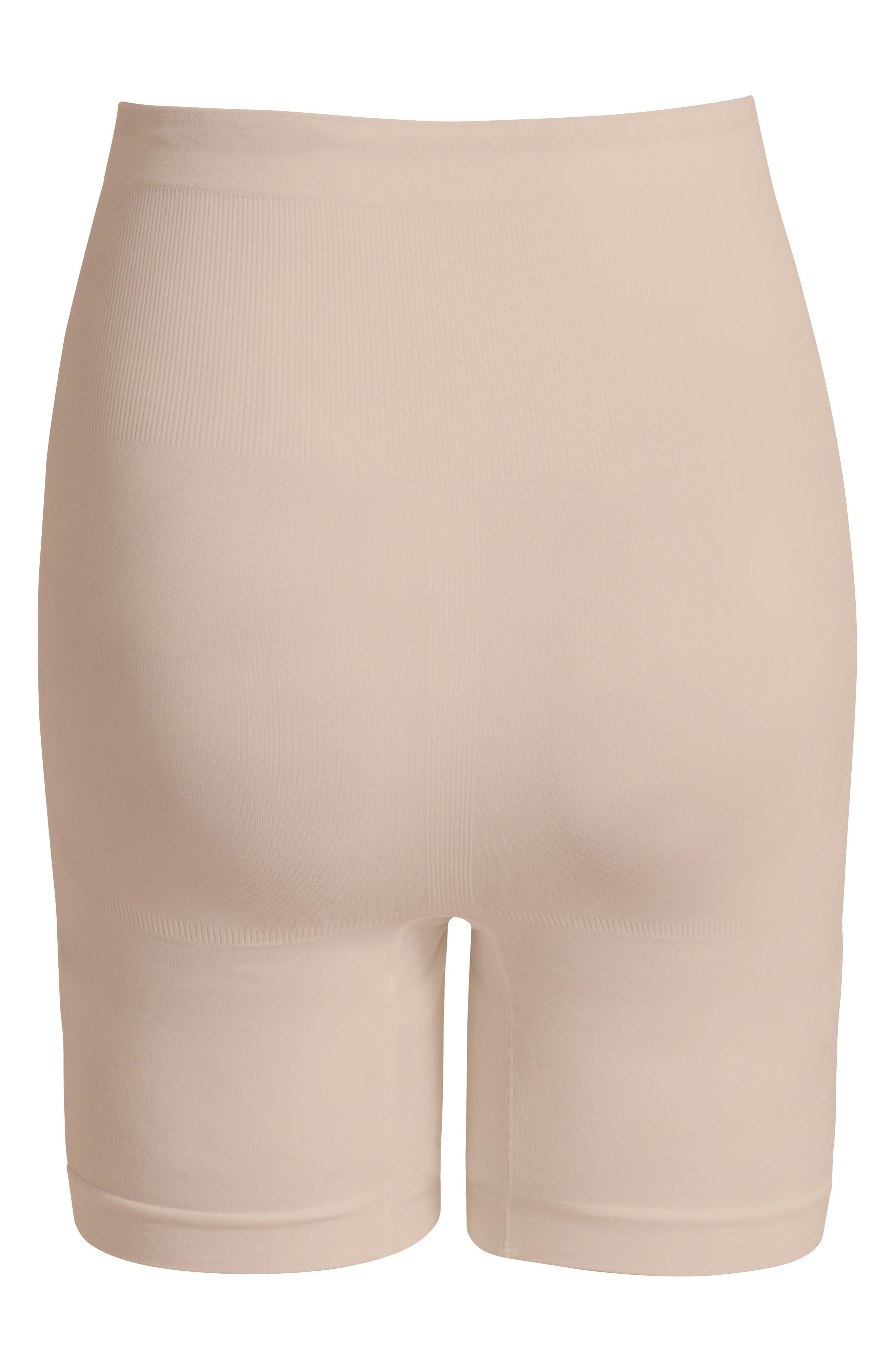 Seamless Maternity Shorts,                             Alternate thumbnail 2, color,                             Natural