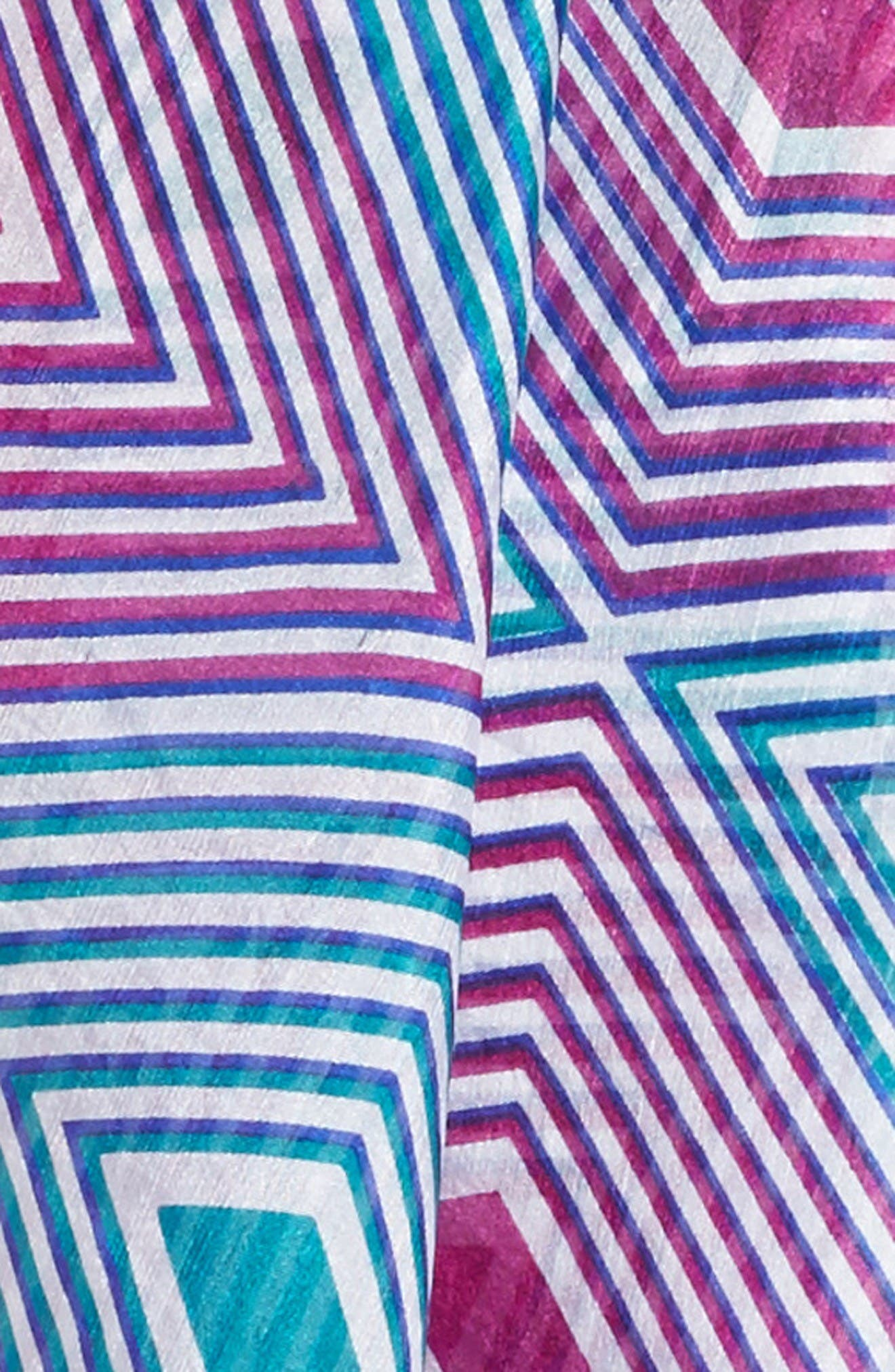 Alternate Image 3  - La Fiorentina Geometric Silk Scarf
