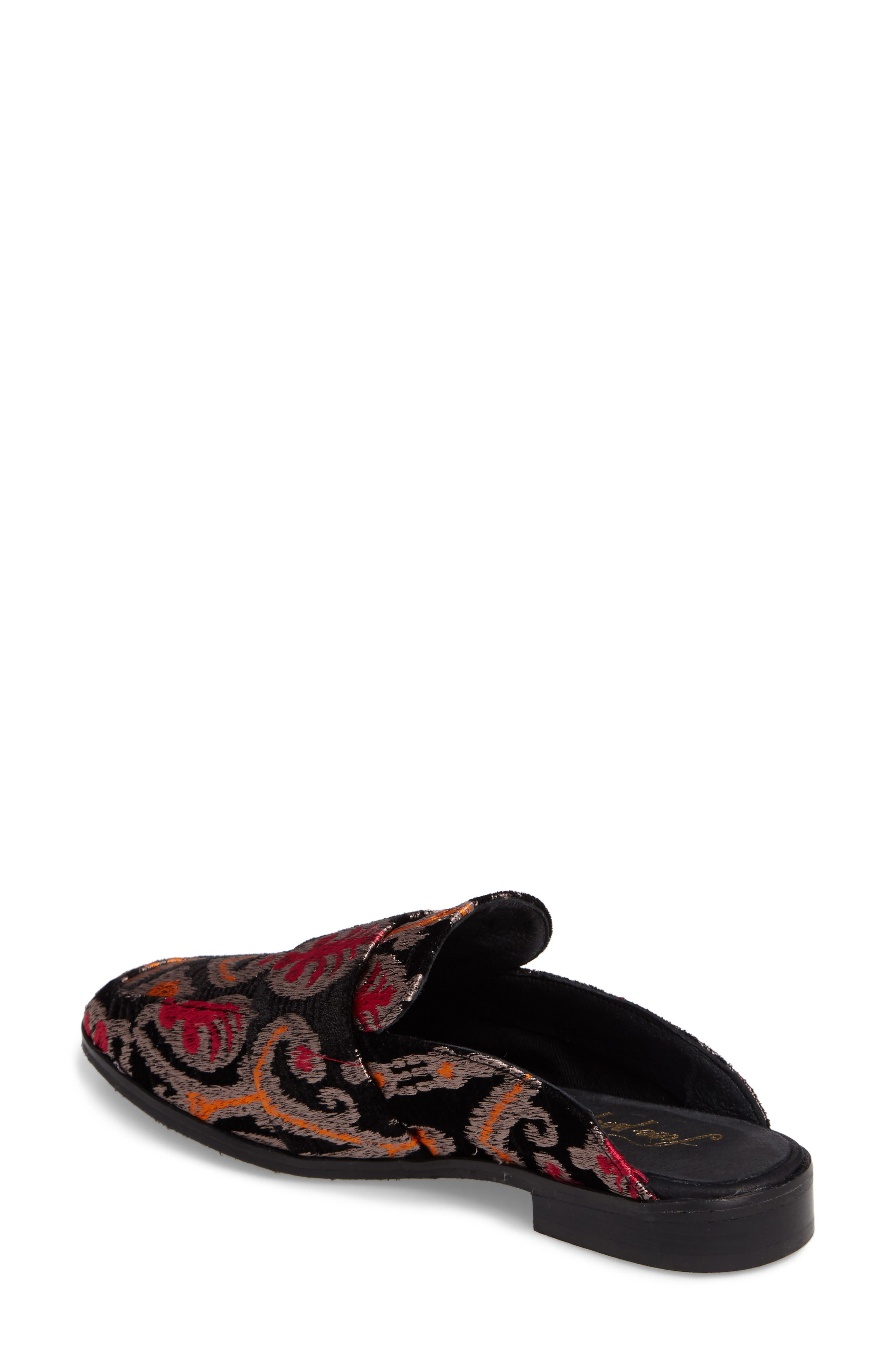 At Ease Loafer,                             Alternate thumbnail 2, color,                             Black Combo Fabric