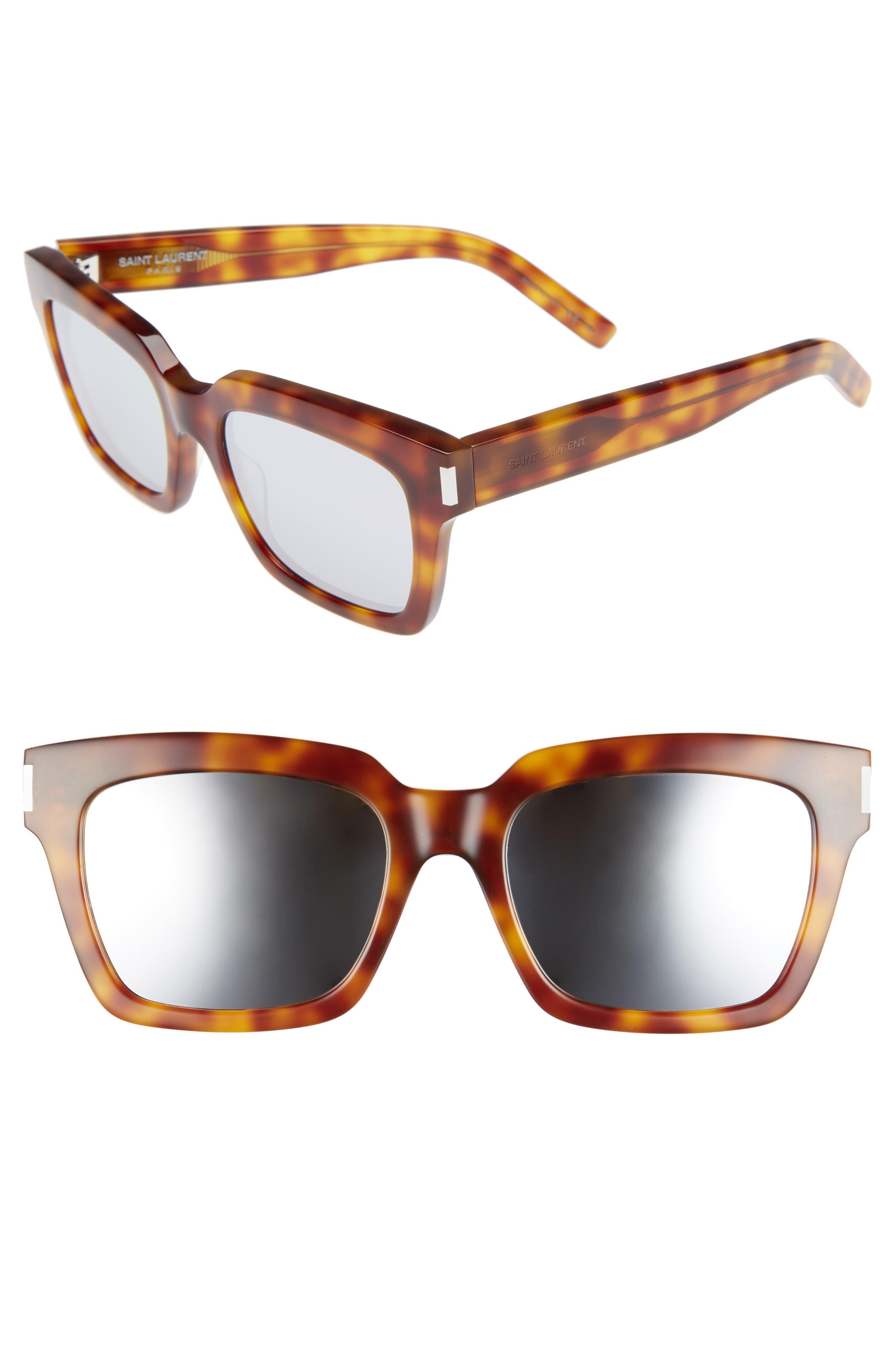 Saint Laurent 'Bold' 54mm Sunglasses
