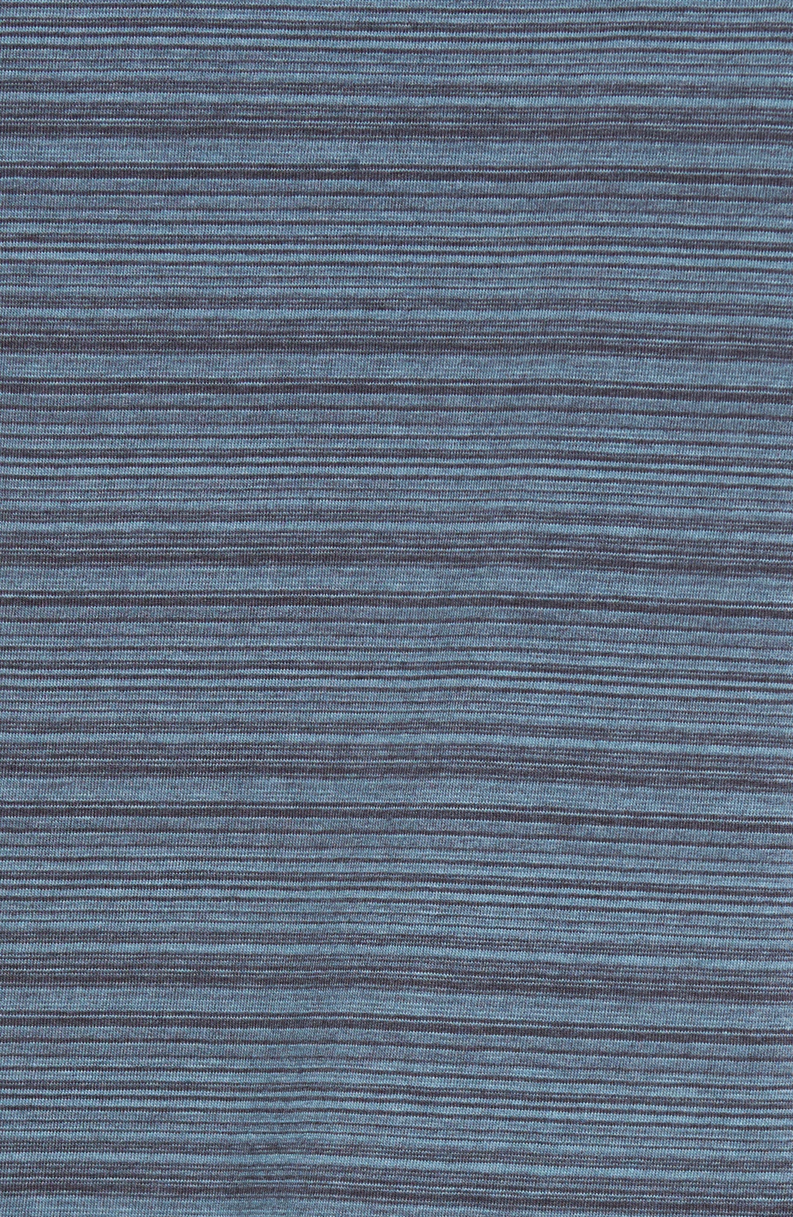 Trim Fit Stripe Polo,                             Alternate thumbnail 6, color,                             Blue Dusk Varied Stripe