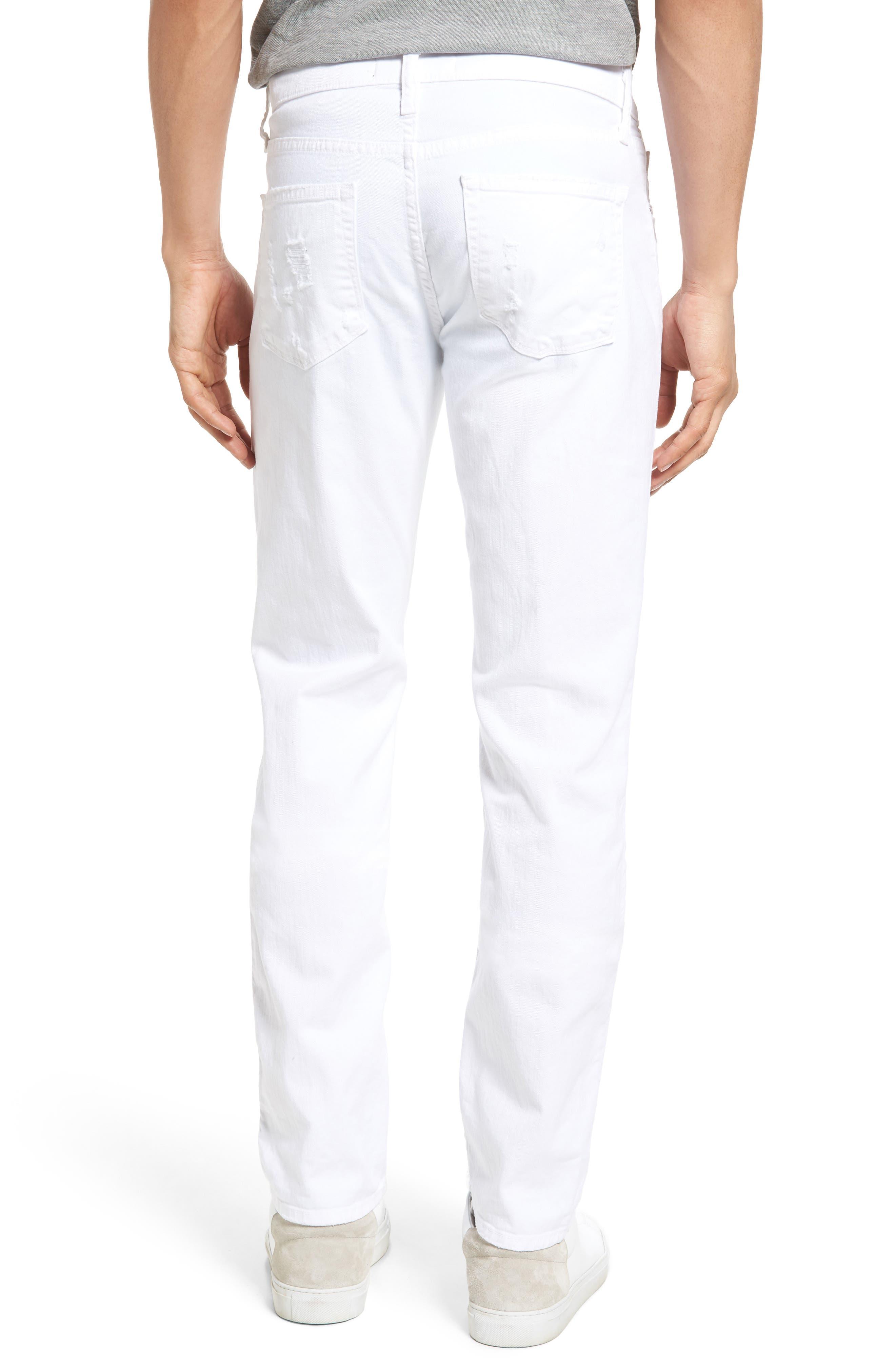 Alternate Image 2  - J Brand Tyler Slim Fit Jeans (Destructed Theoros)