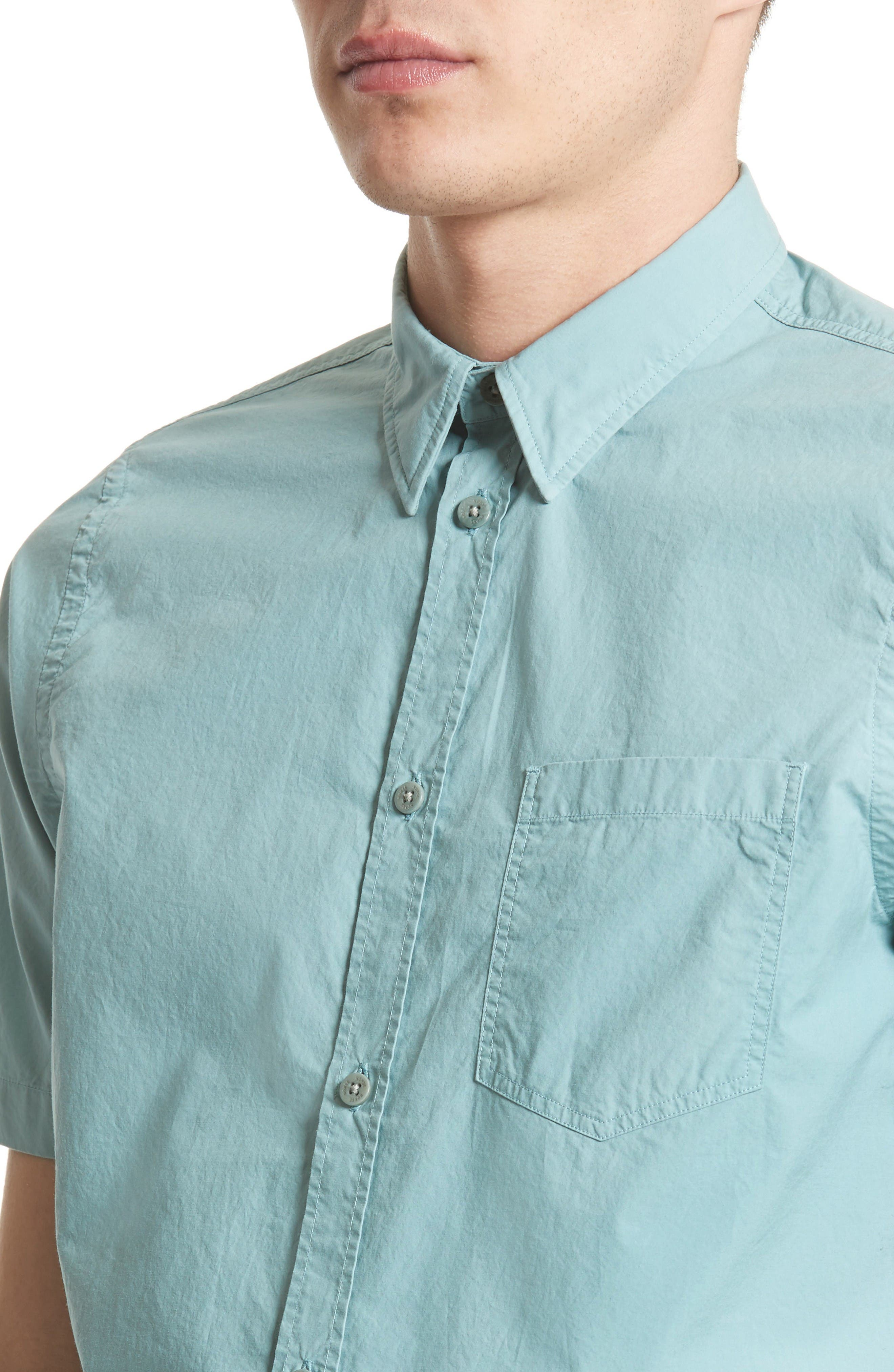 Alternate Image 4  - Norse Projects Anton Trim Fit Sport Shirt