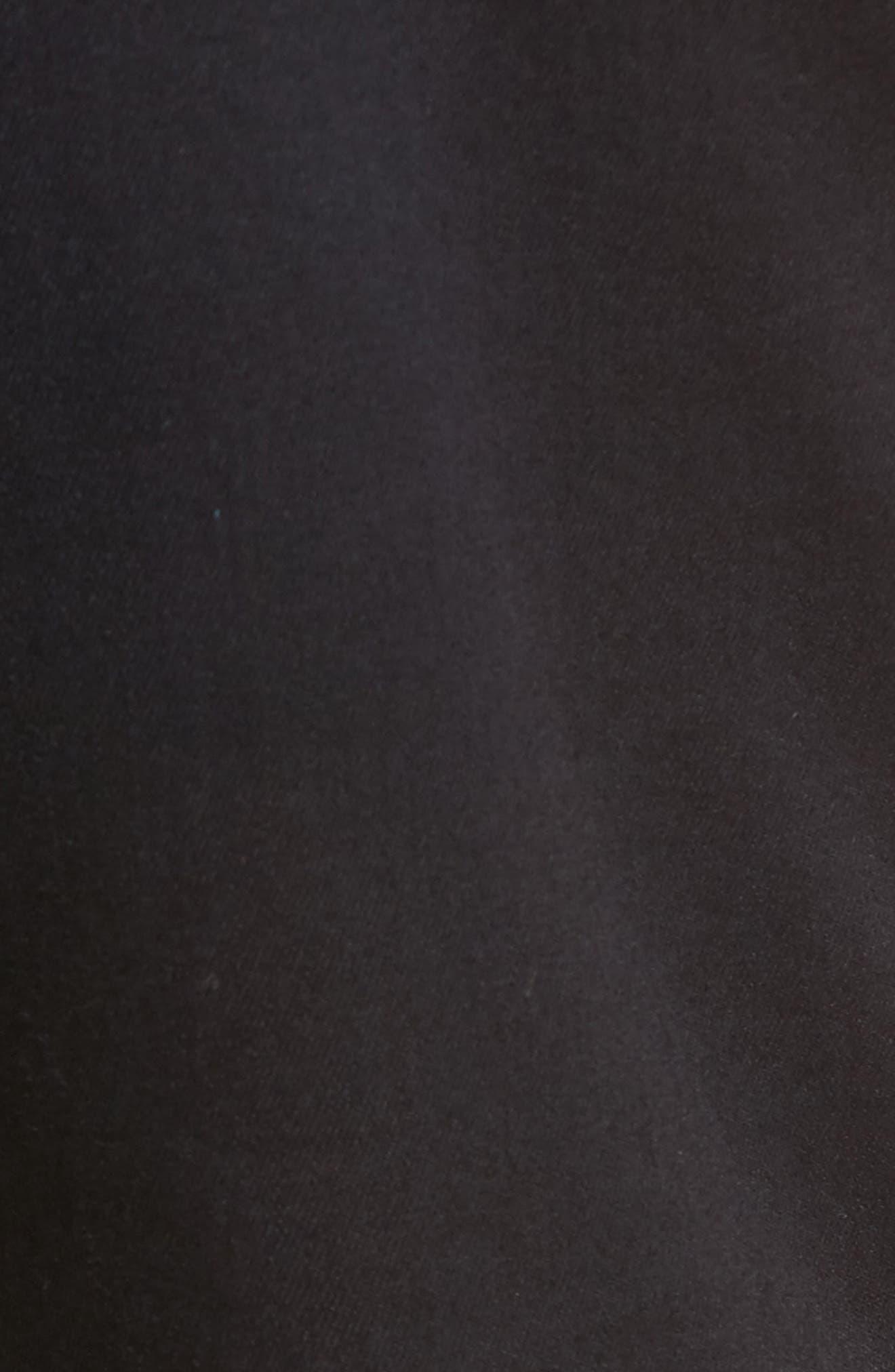 Matt Relaxed Fit Jeans,                             Alternate thumbnail 5, color,                             Blue Black