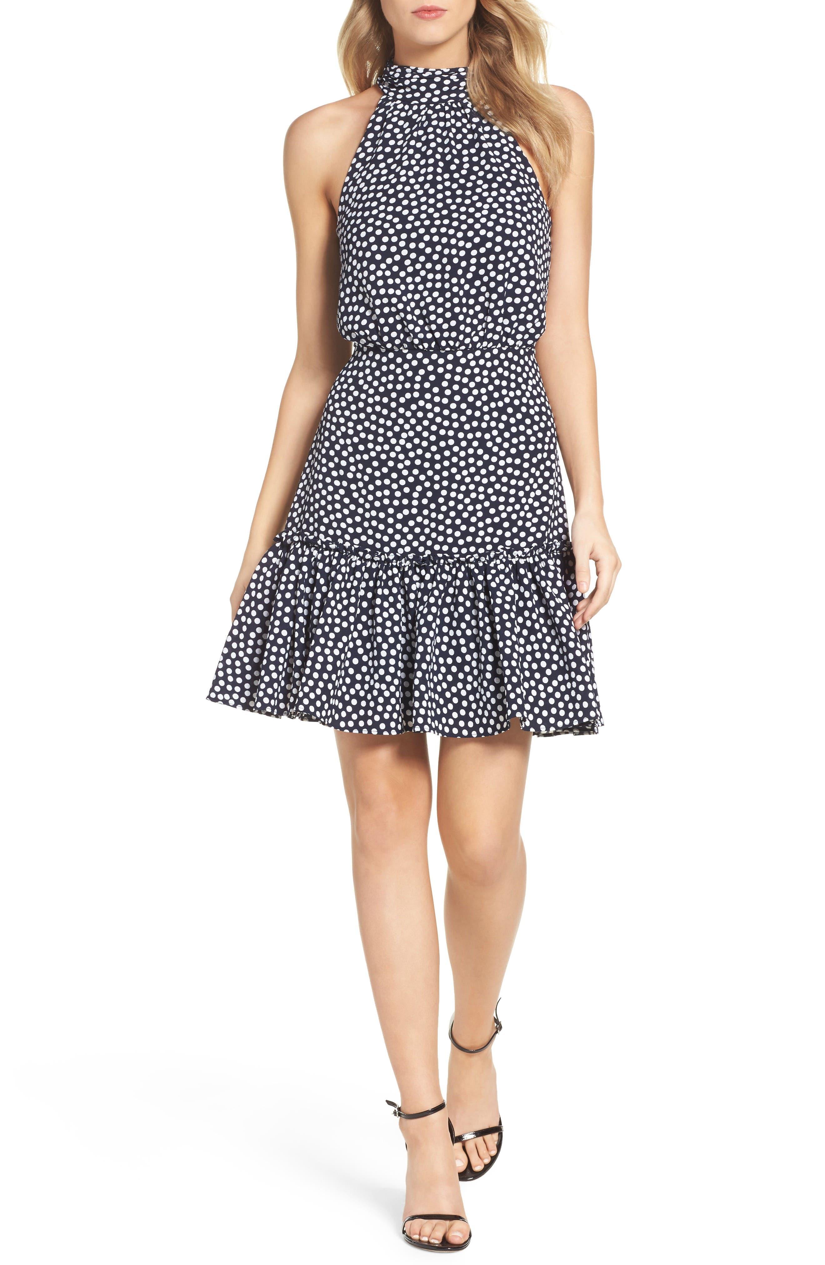 Betsey Johnson Halter Dress