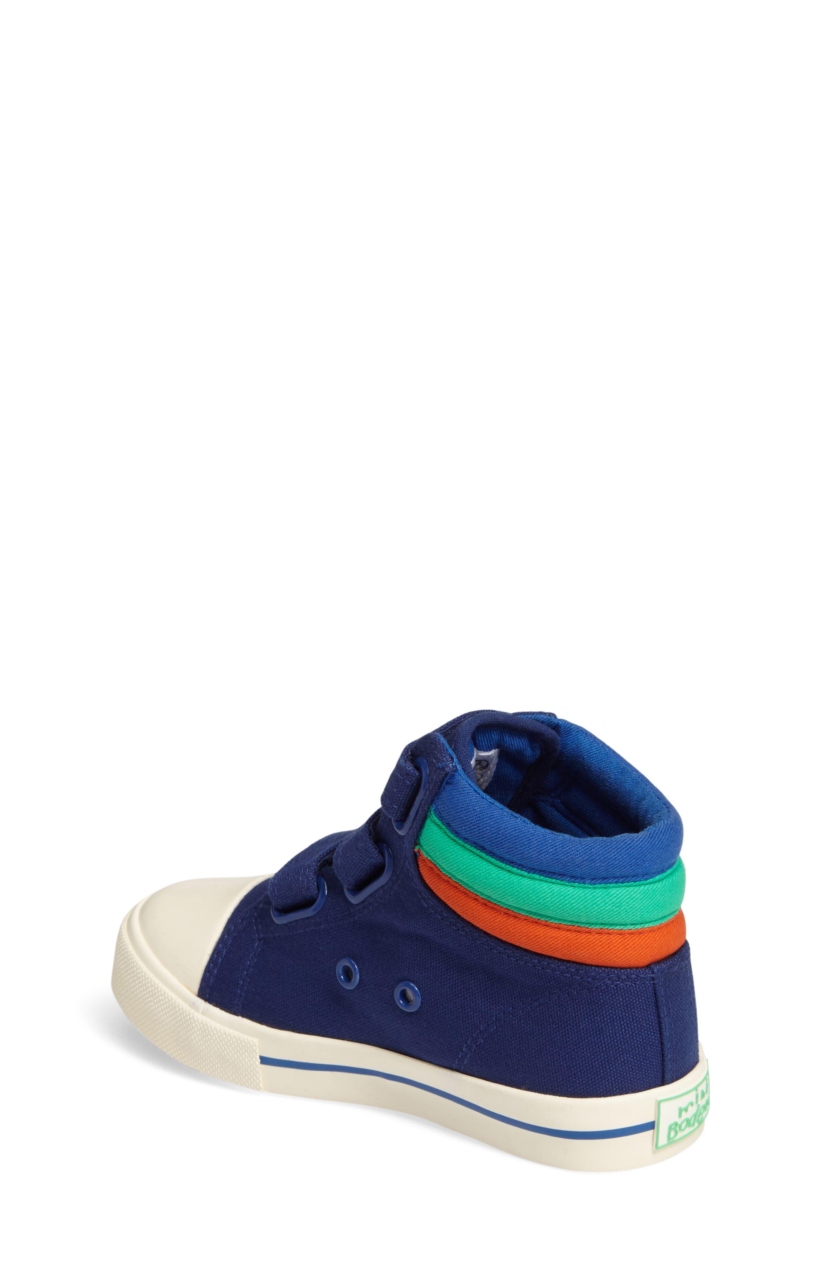 Alternate Image 2  - Mini Boden High Top Sneaker (Toddler, Little Kid & Big Kid)