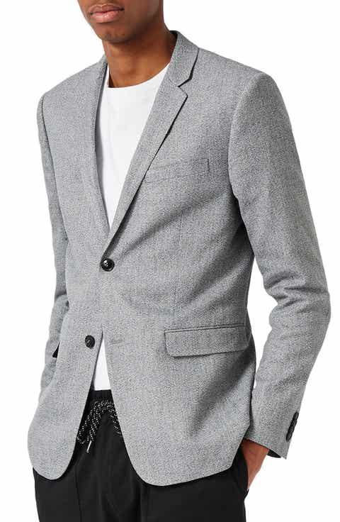 Grey Blazers & Sport Coats for Men   Nordstrom   Nordstrom