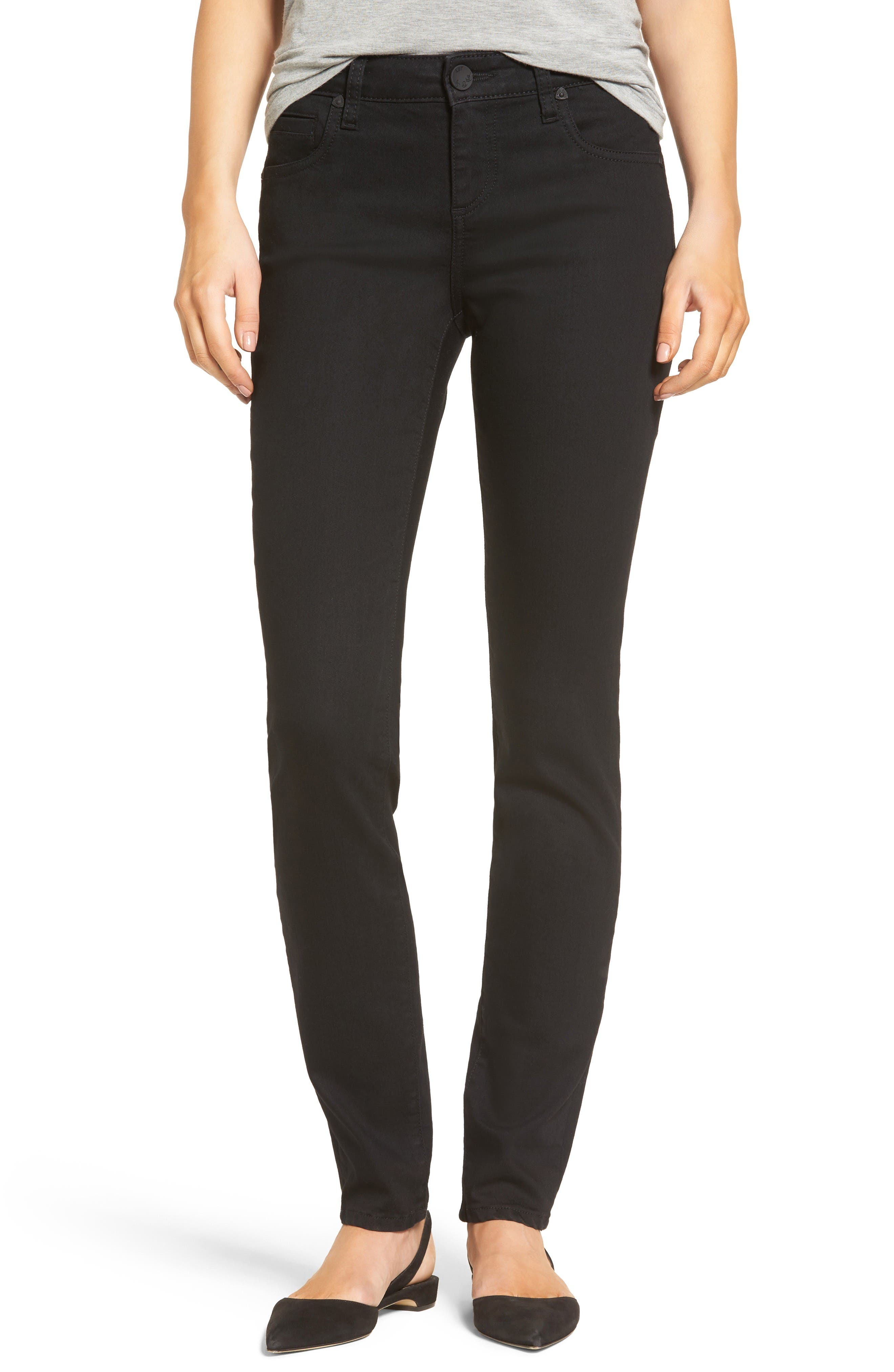 Alternate Image 1 Selected - KUT from the Kloth Diana Stretch Skinny Jeans (Regular & Petite)
