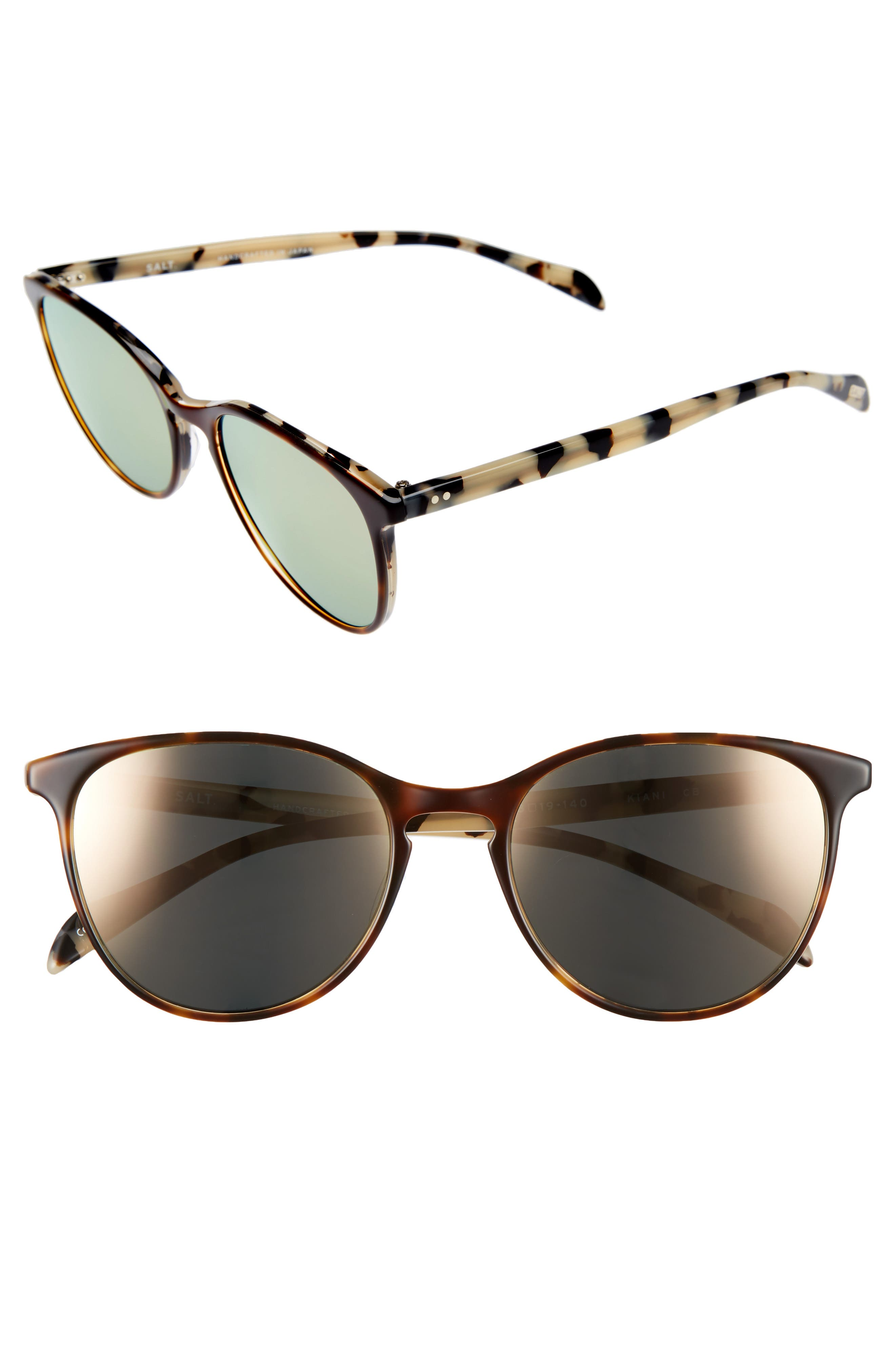 Kiani 53mm Polarized Retro Sunglasses by Salt
