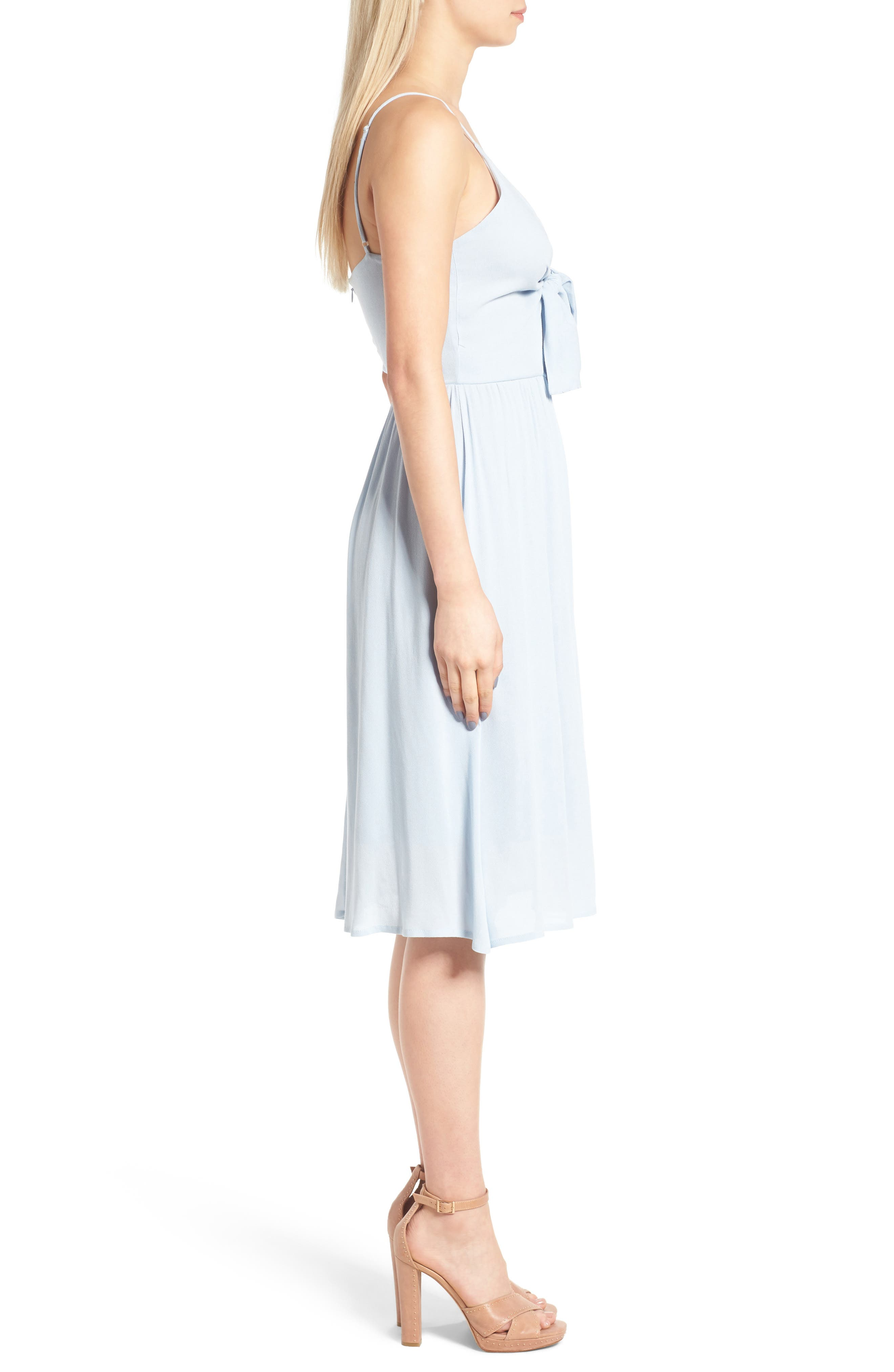 Alternate Image 3  - Leith Tie Front Dress