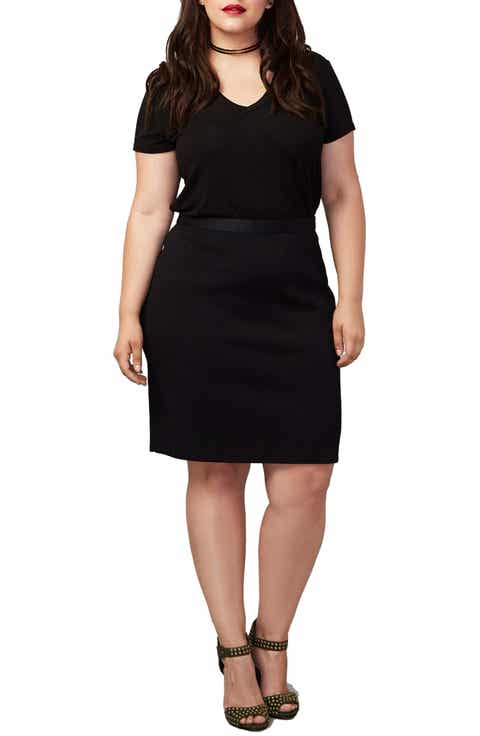 RACHEL Rachel Roy Parker Skirt (Plus Size)