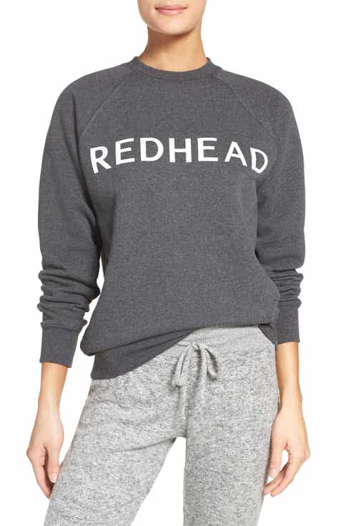 BRUNETTE the Label Redhead Lounge Sweatshirt