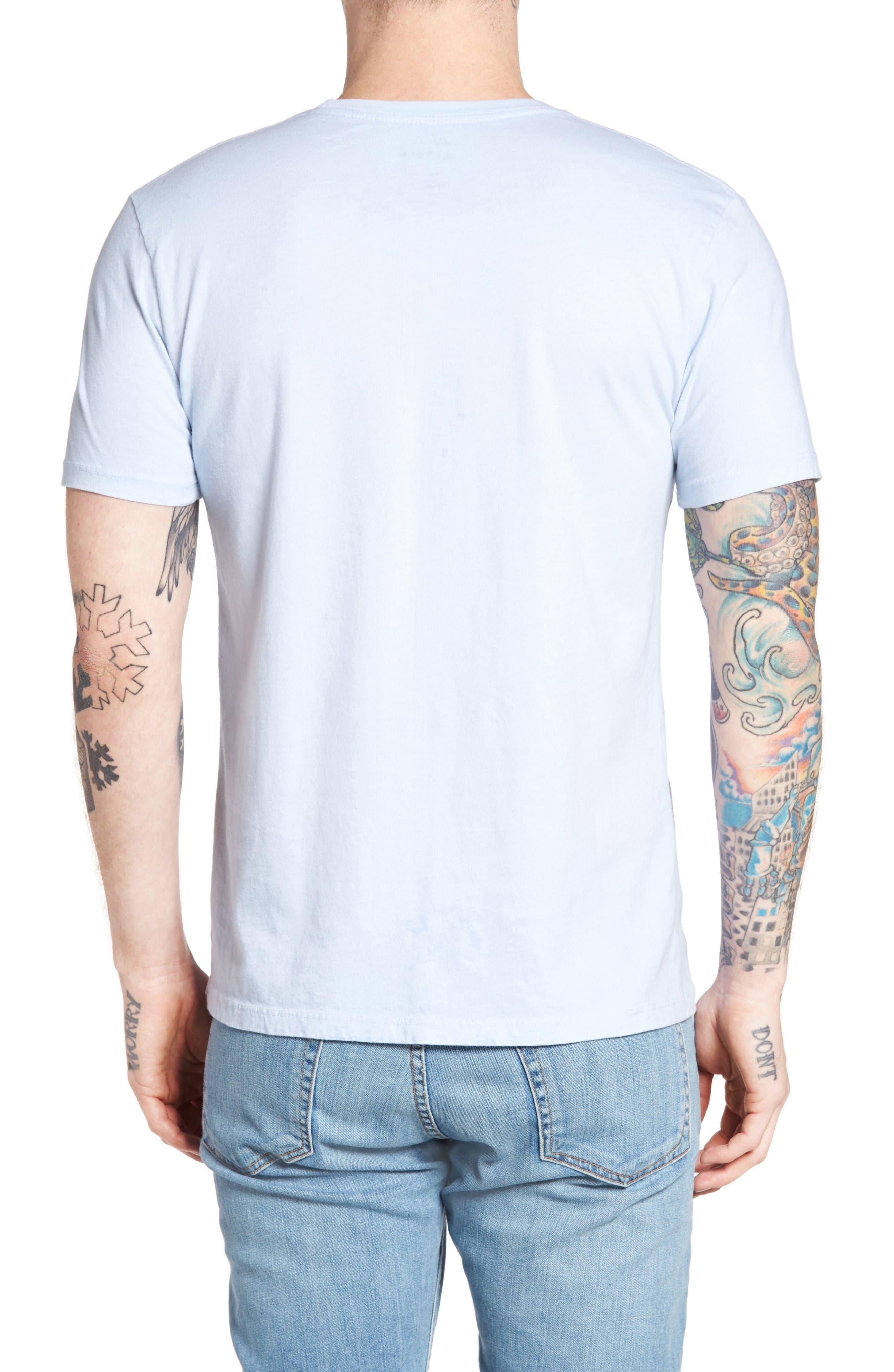 SUP Eagle Pocket T-Shirt,                             Alternate thumbnail 2, color,                             Powder Blue