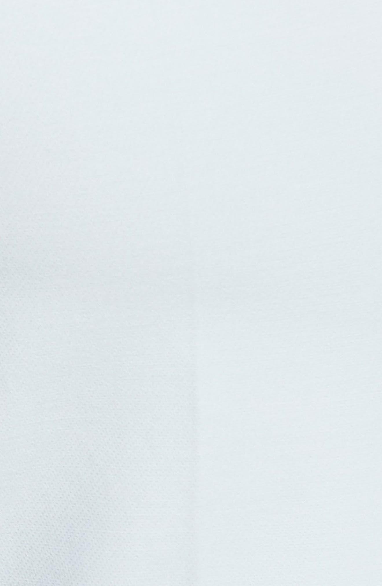 Armani Collezion Tech Cotton Cuff Pants,                             Alternate thumbnail 3, color,                             Cloud