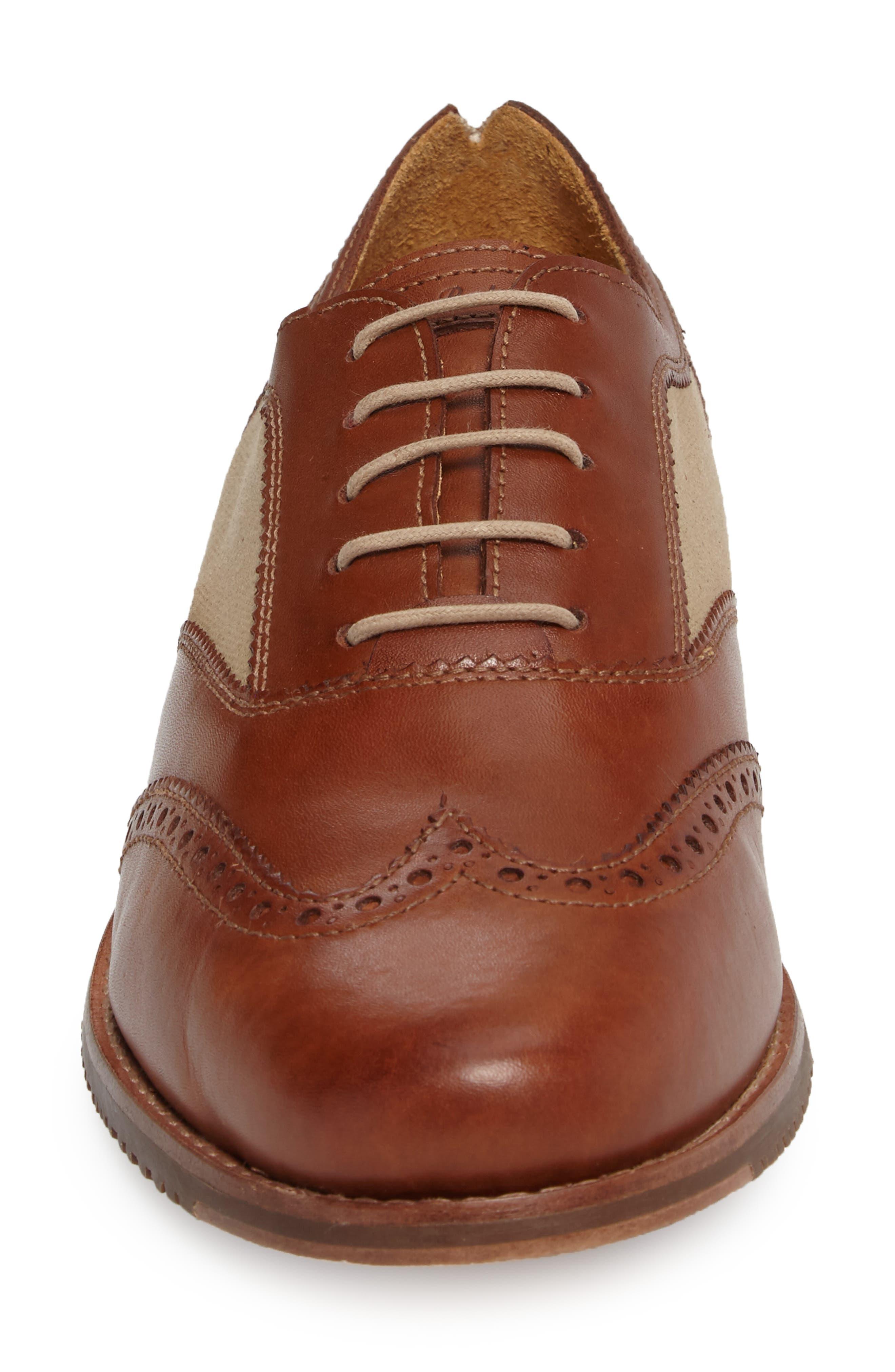Felman Wingtip,                             Alternate thumbnail 4, color,                             Whiskey Leather
