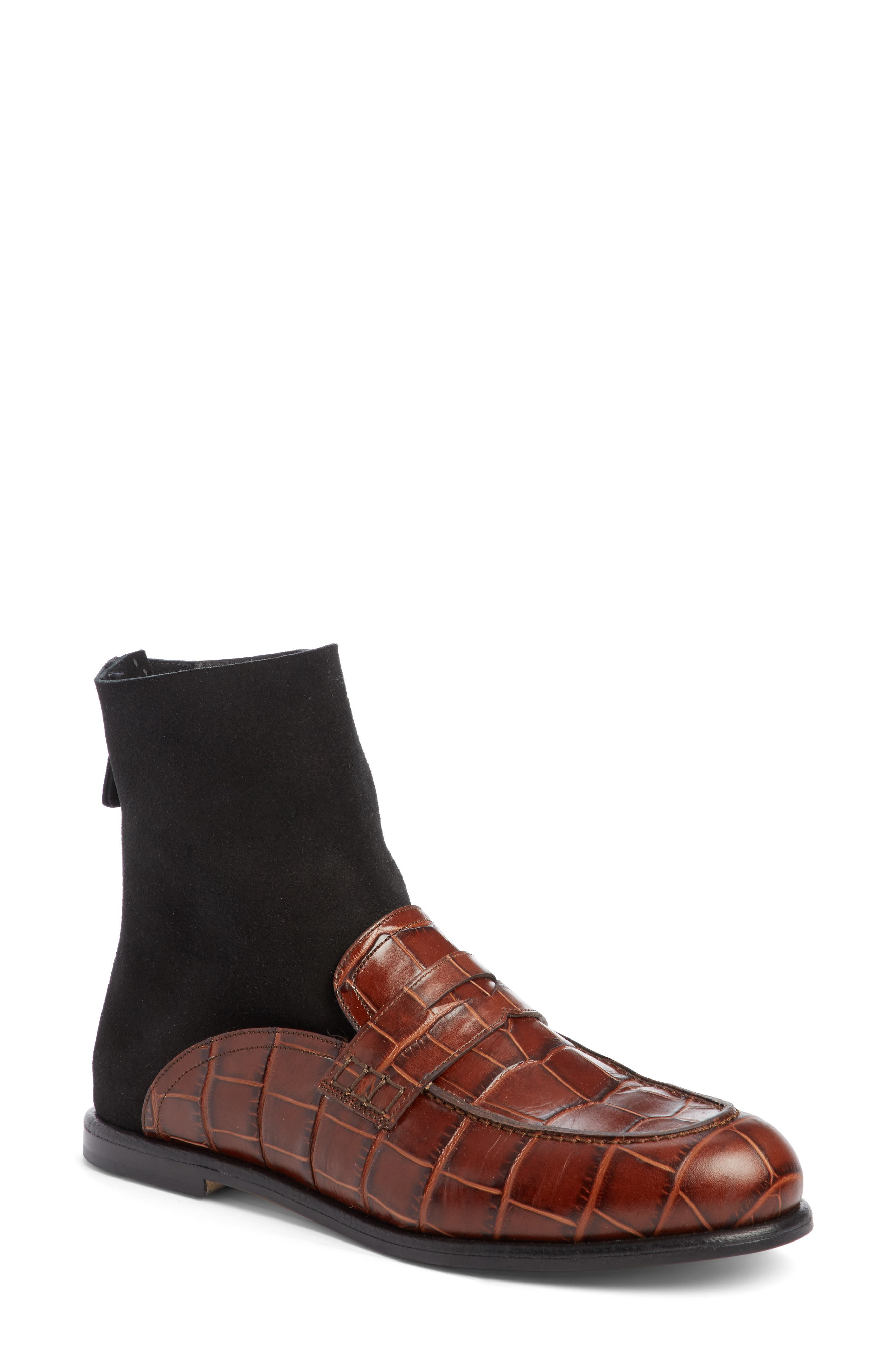 Loewe Sock Boot Loafer (Women)