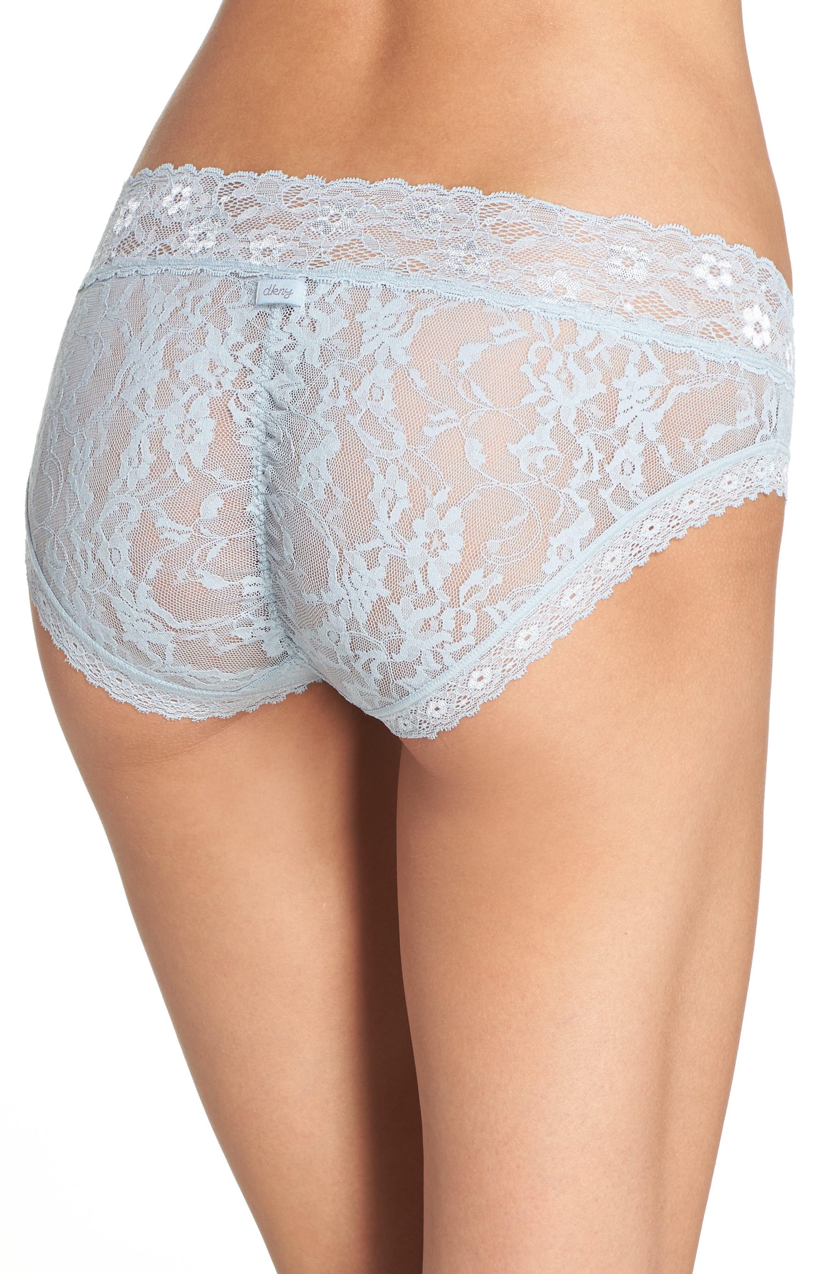 Alternate Image 2  - DKNY 'Signature Lace' Bikini (3 for $30)