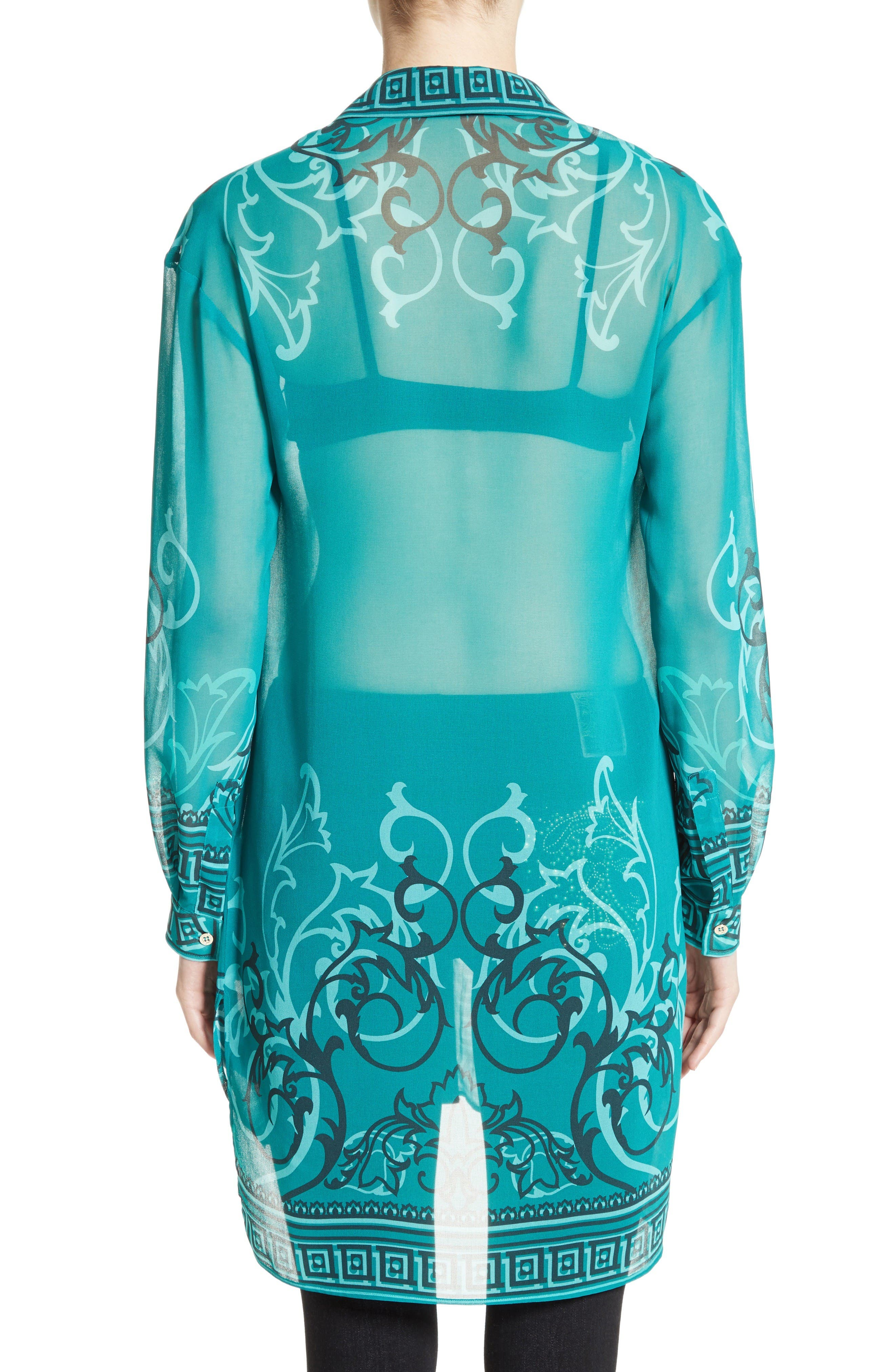 Alternate Image 2  - Versace Collection Baroque Print Tunic
