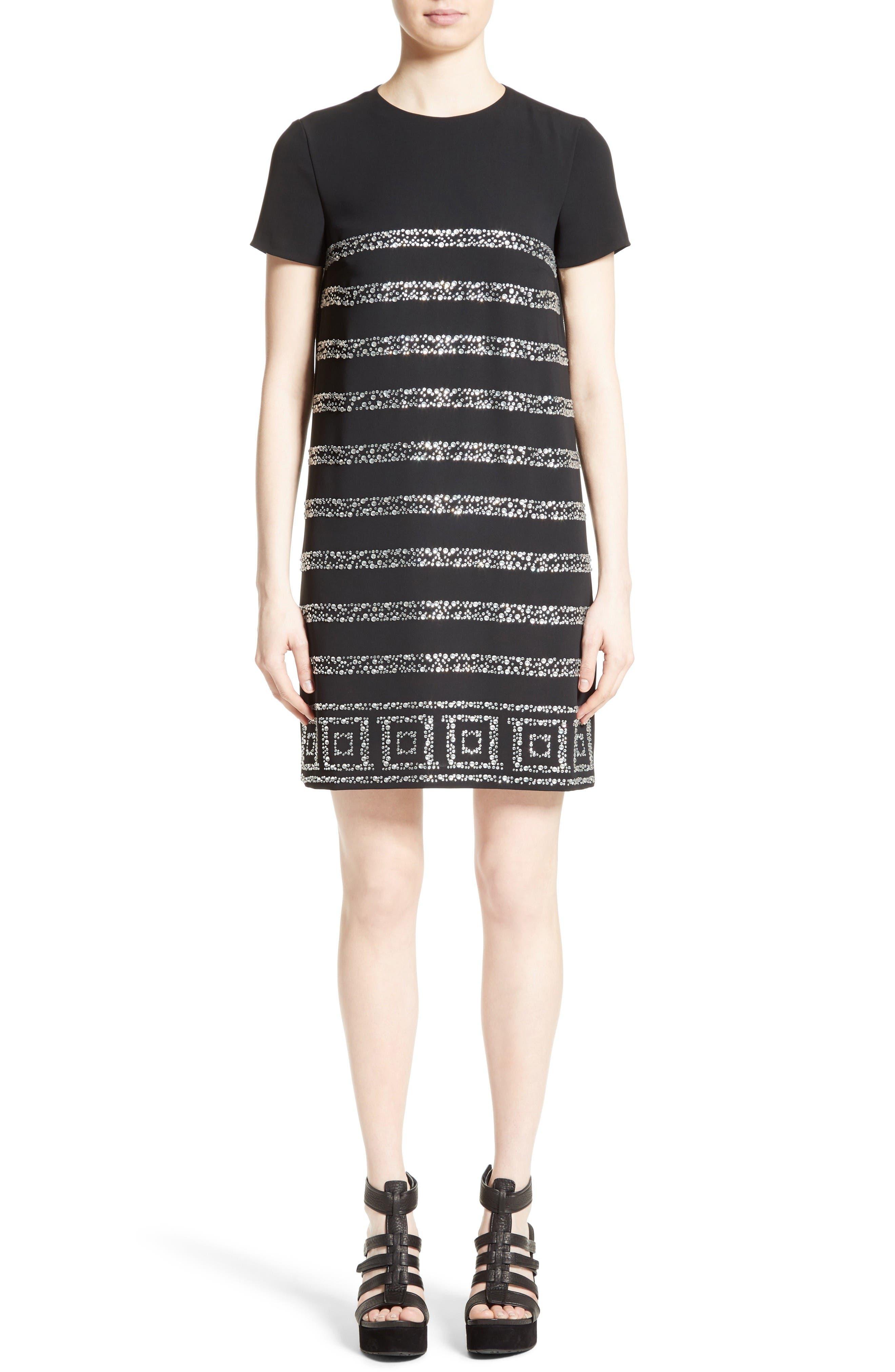 Rhinestone Dress,                         Main,                         color, Abate
