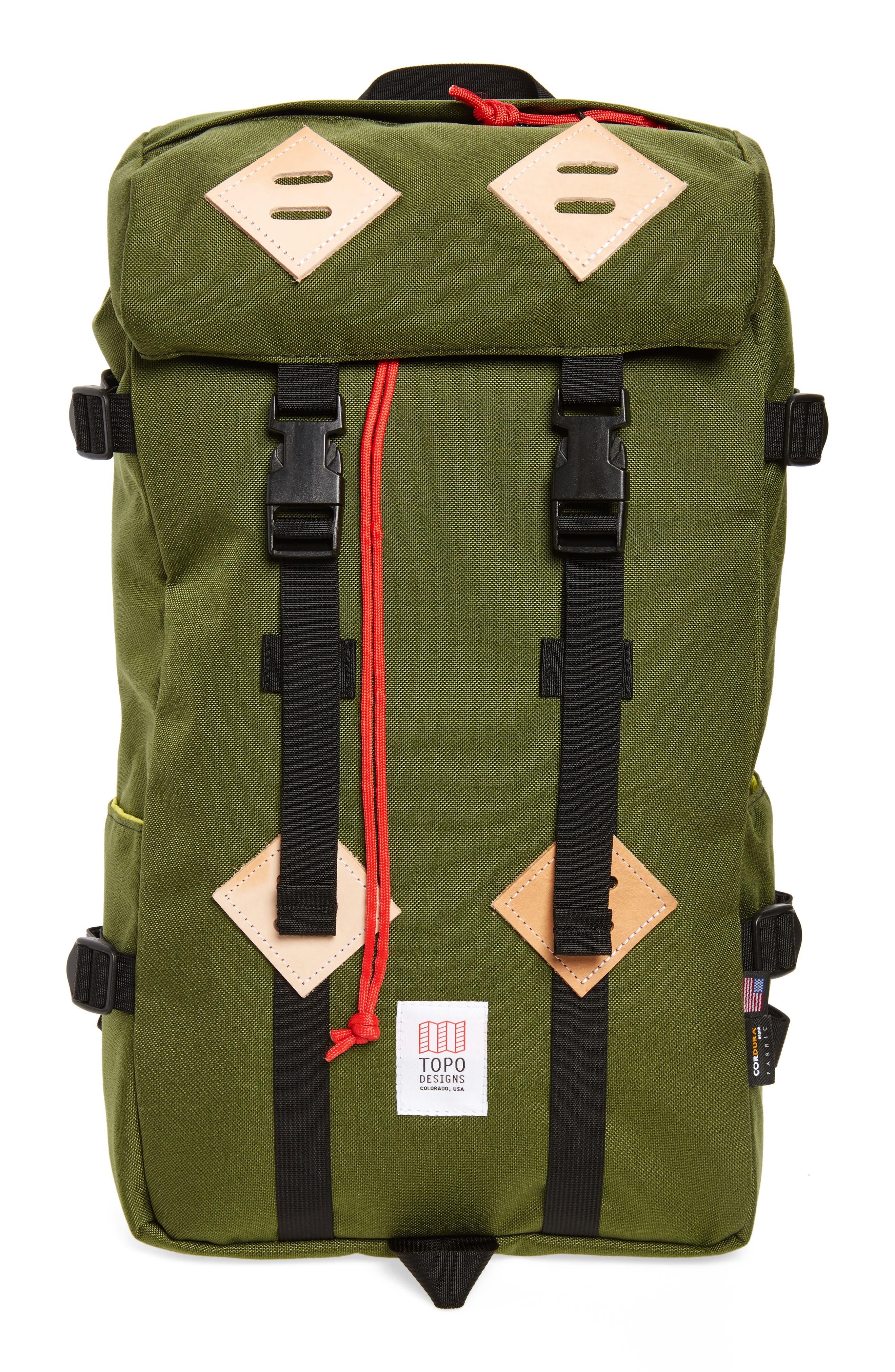 Klettersack Backpack,                         Main,                         color, Olive