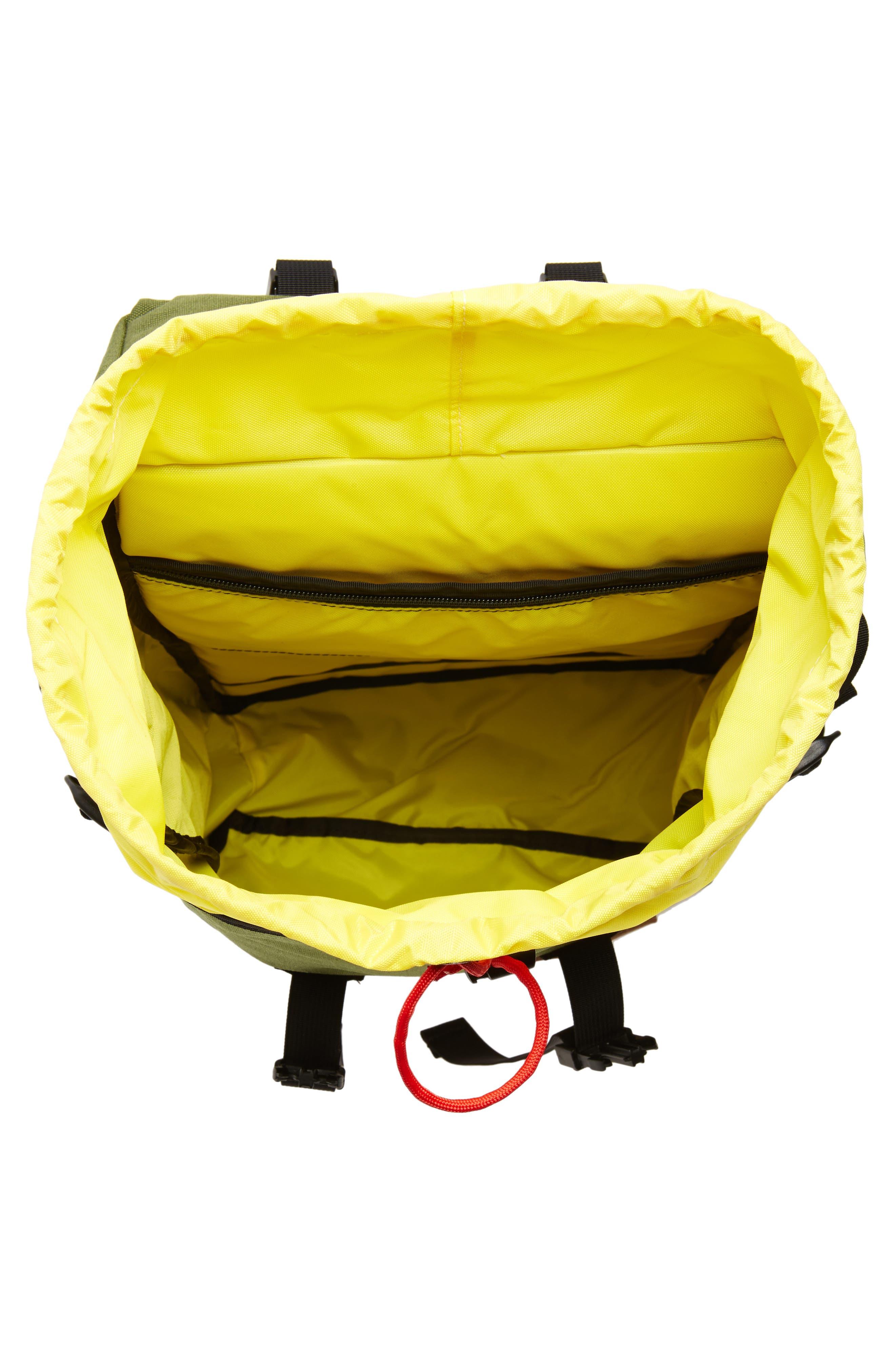 Klettersack Backpack,                             Alternate thumbnail 4, color,                             Olive