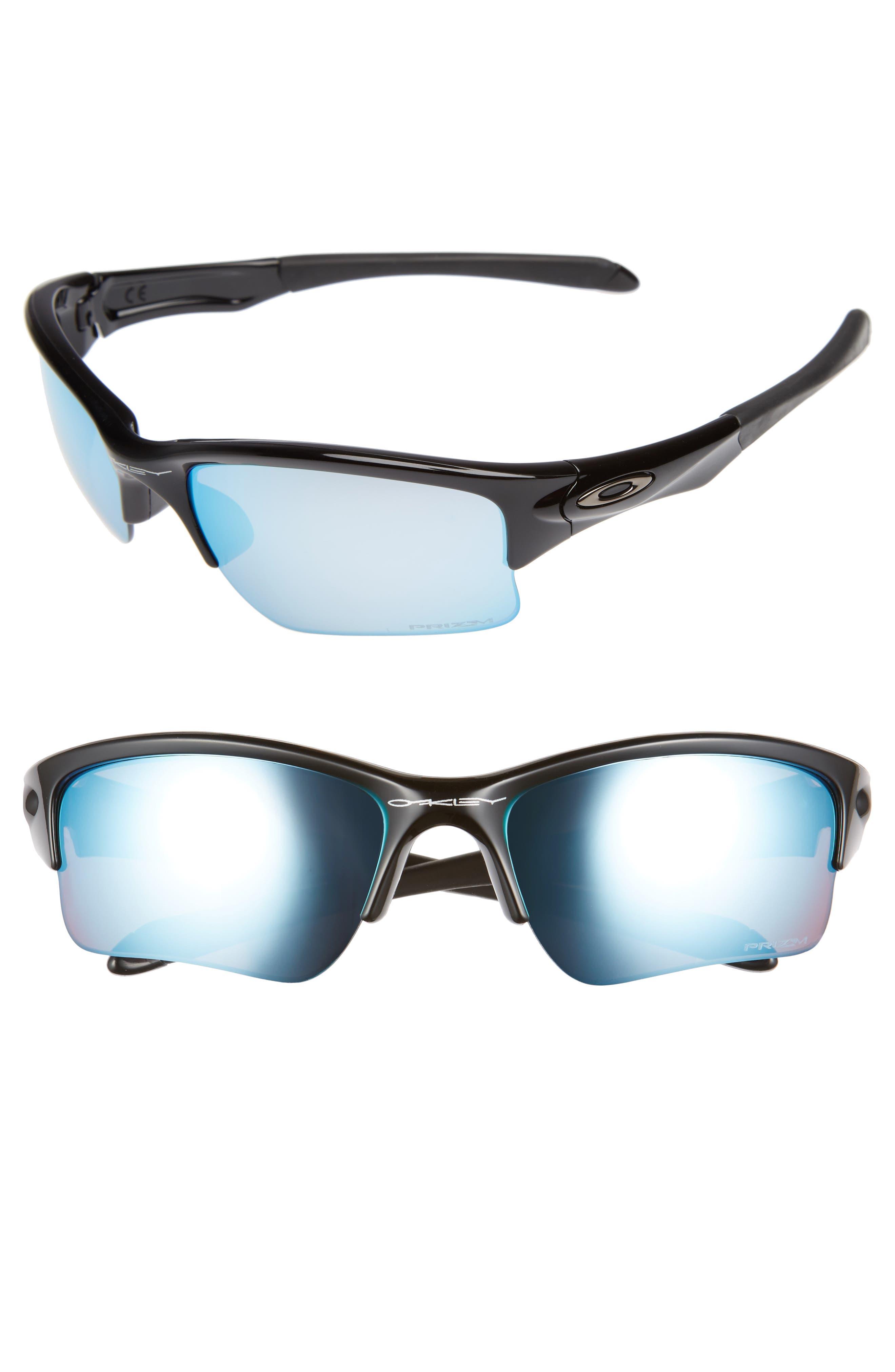 OAKLEY Quarter Jacket PRIZM<sup>™</sup> 61mm Polarized Semi-Rimless Sunglasses