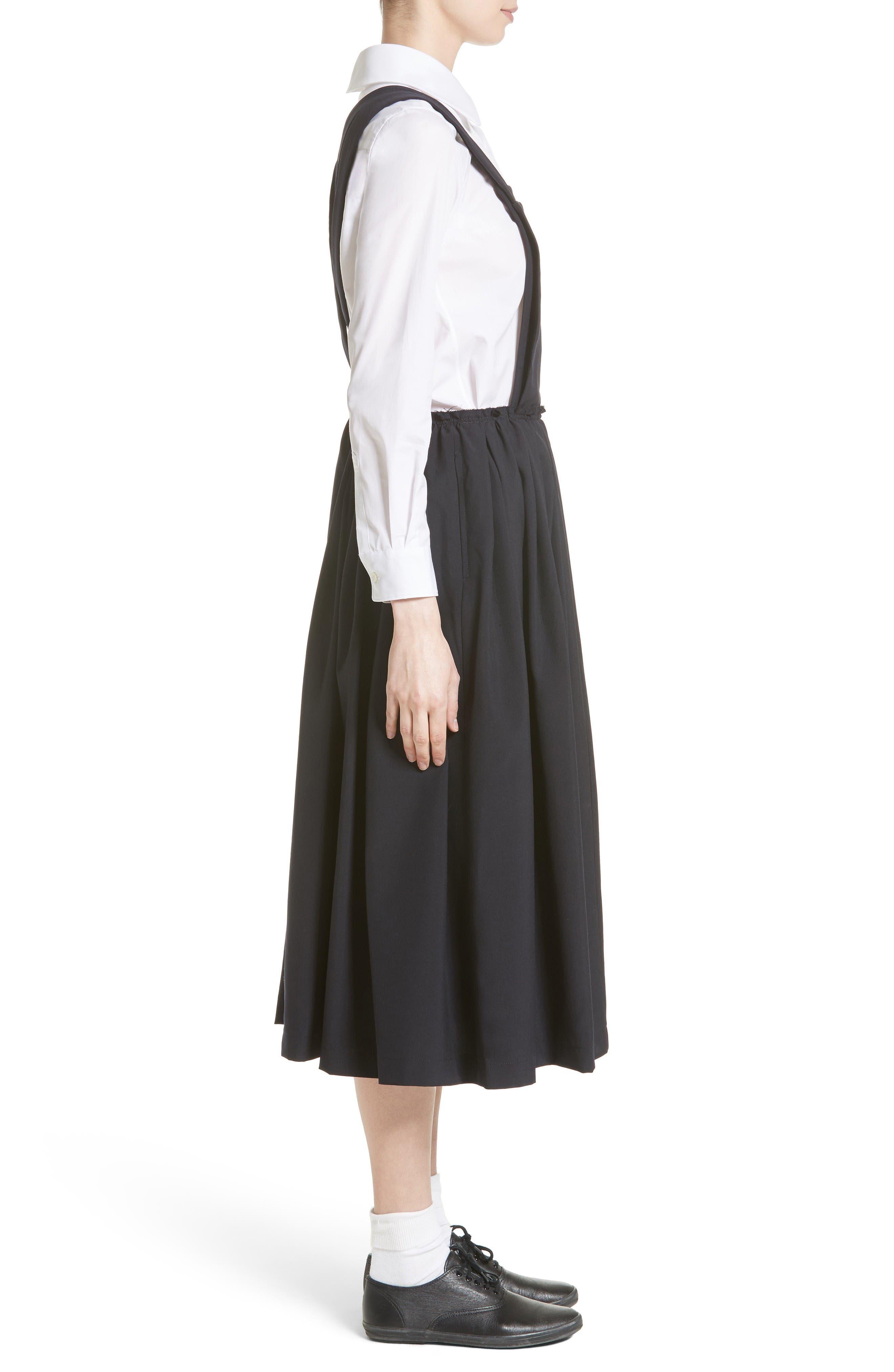 Alternate Image 5  - Comme des Garçons Tropical Wool Overall Dress