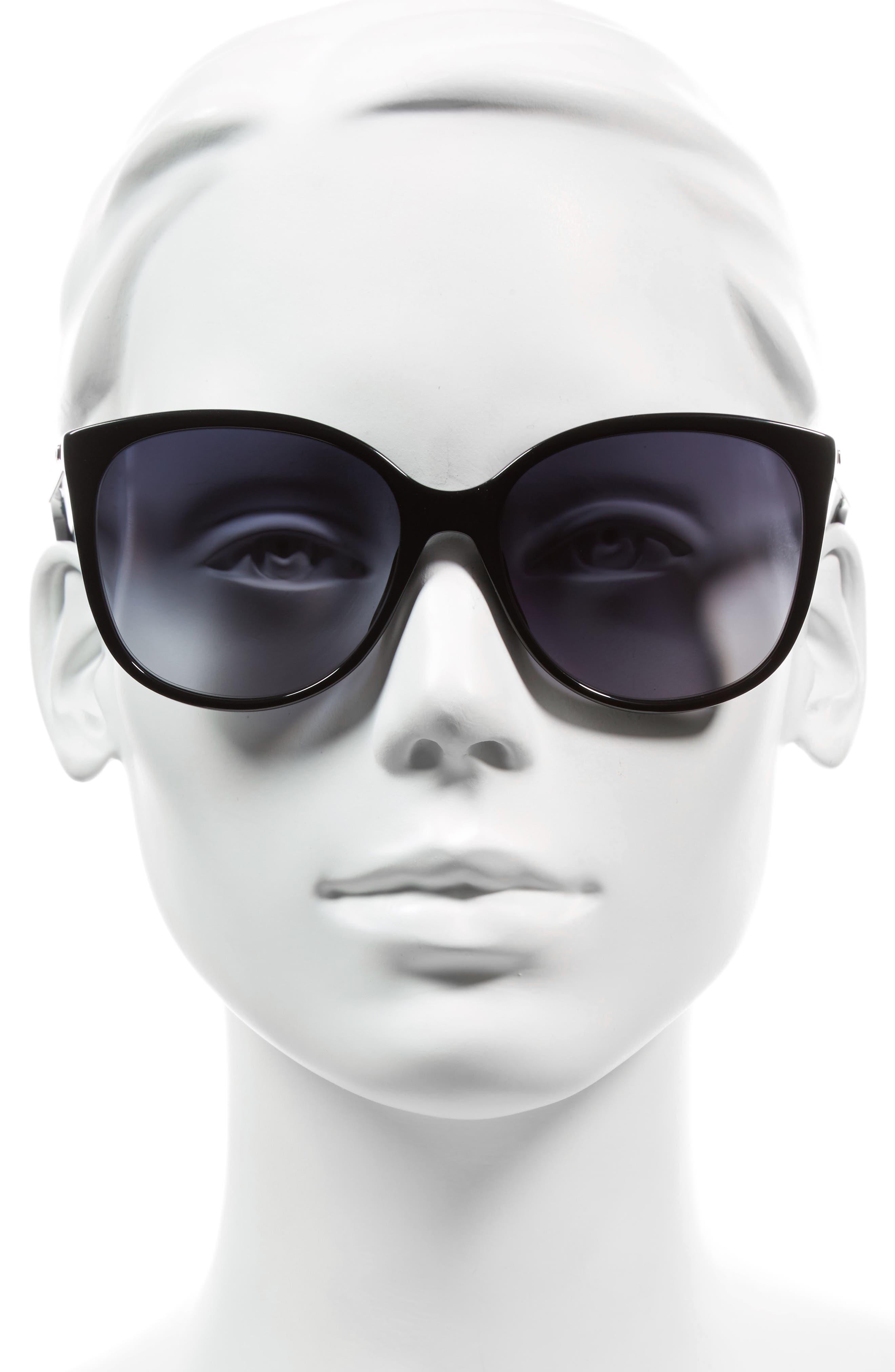 Alternate Image 2  - MARC JACOBS 56mm Gradient Lens Butterfly Sunglasses