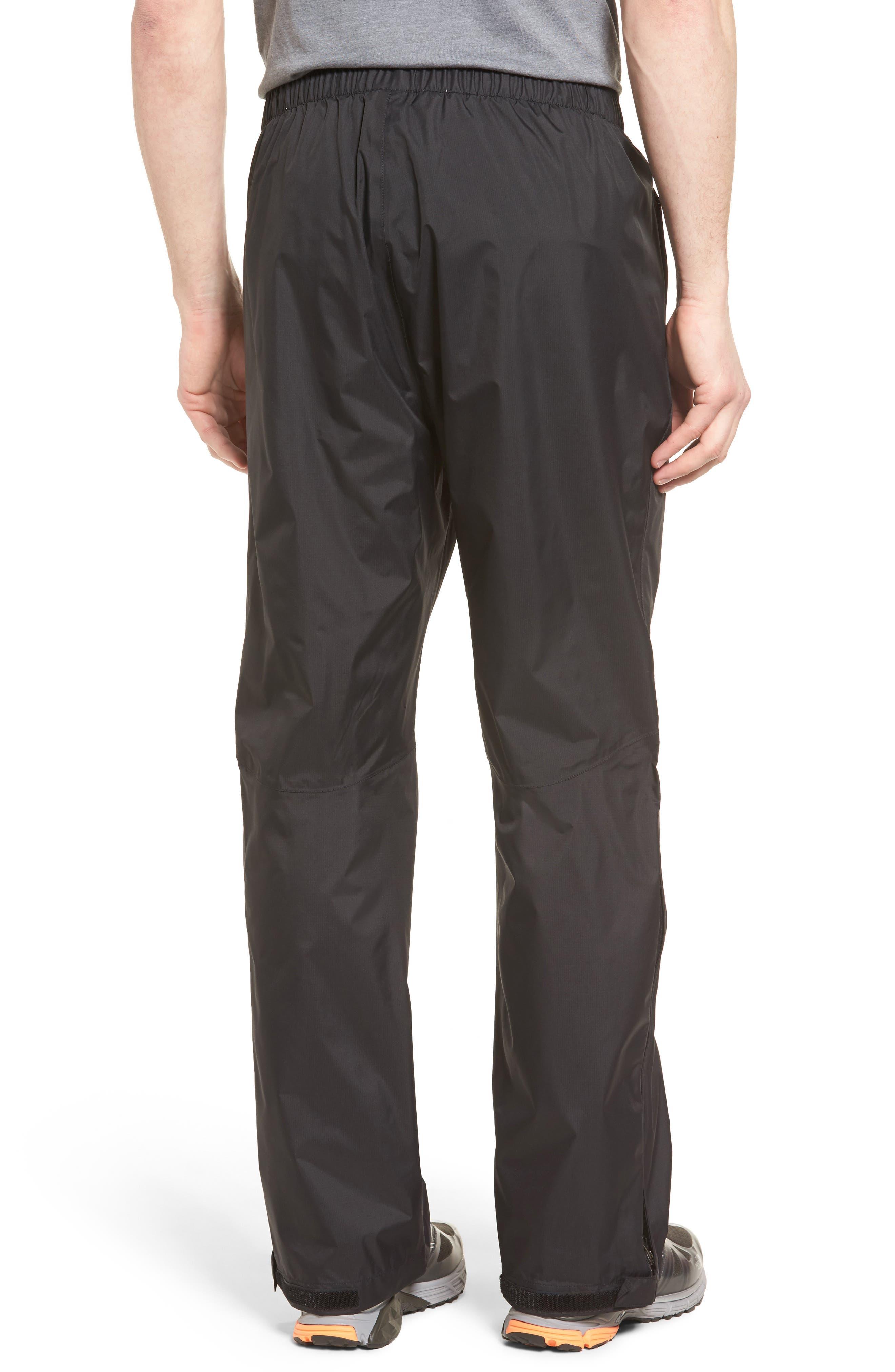 Venture Waterproof Pants,                             Alternate thumbnail 2, color,                             Black