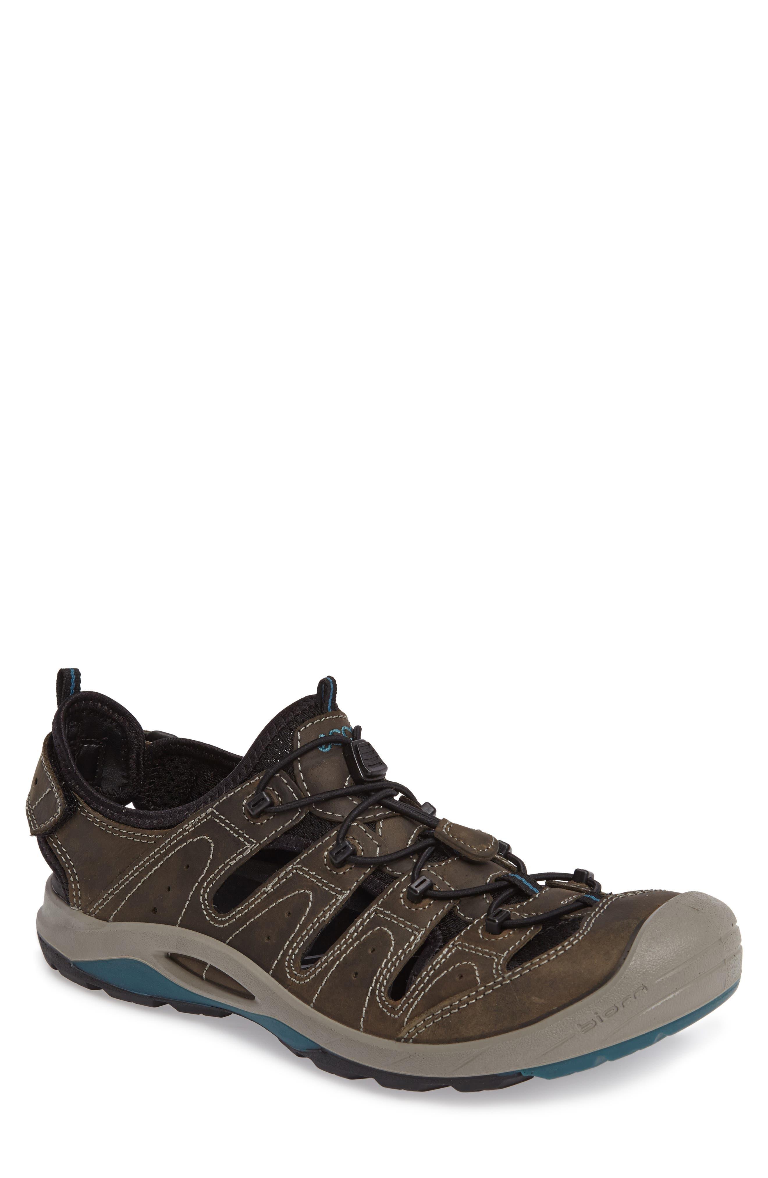 'BIOM Delta Offroad' Sandal,                             Main thumbnail 1, color,                             Tarmac/ Black