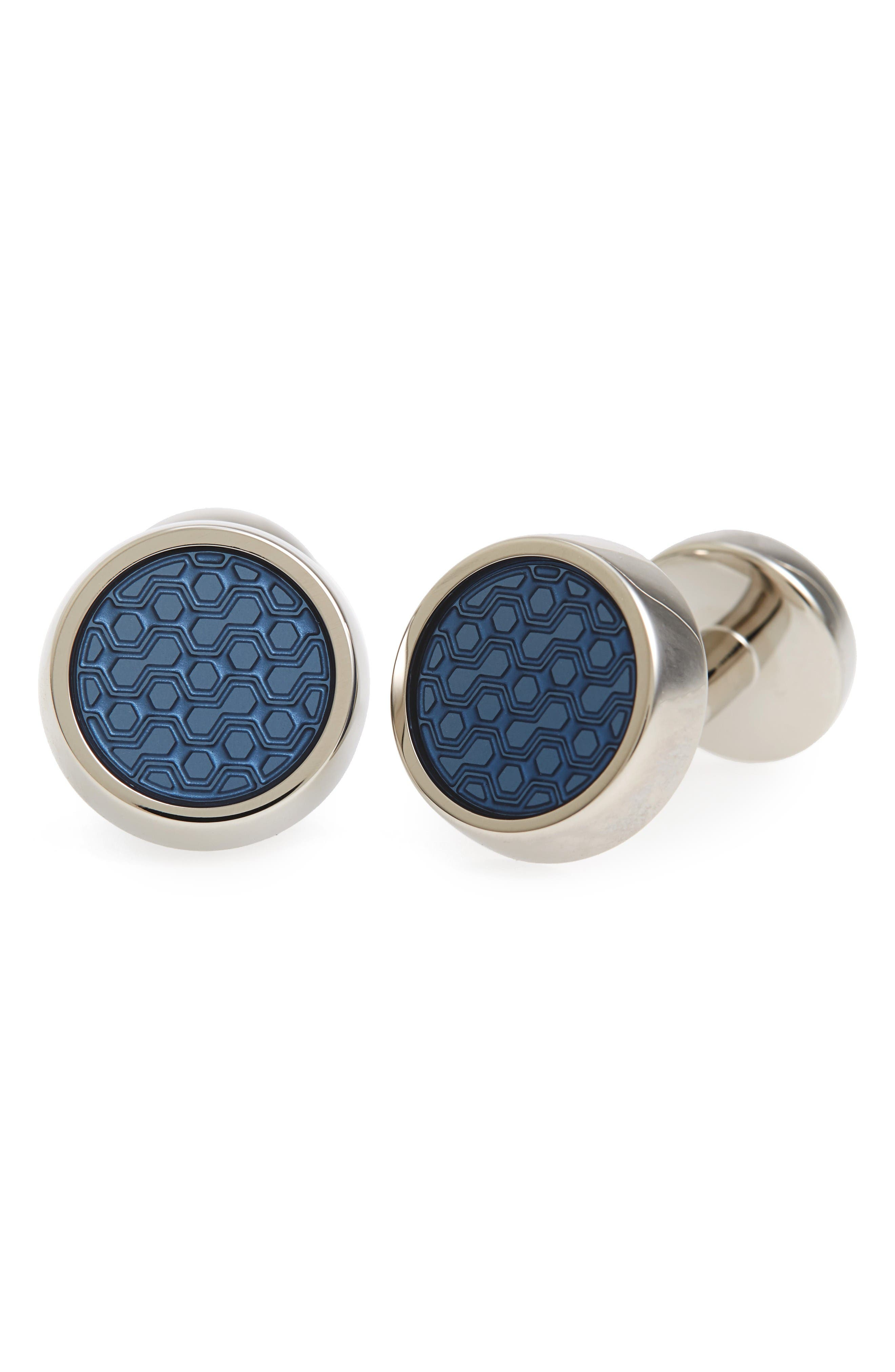 Alternate Image 1 Selected - BOSS Round Cuff LInks