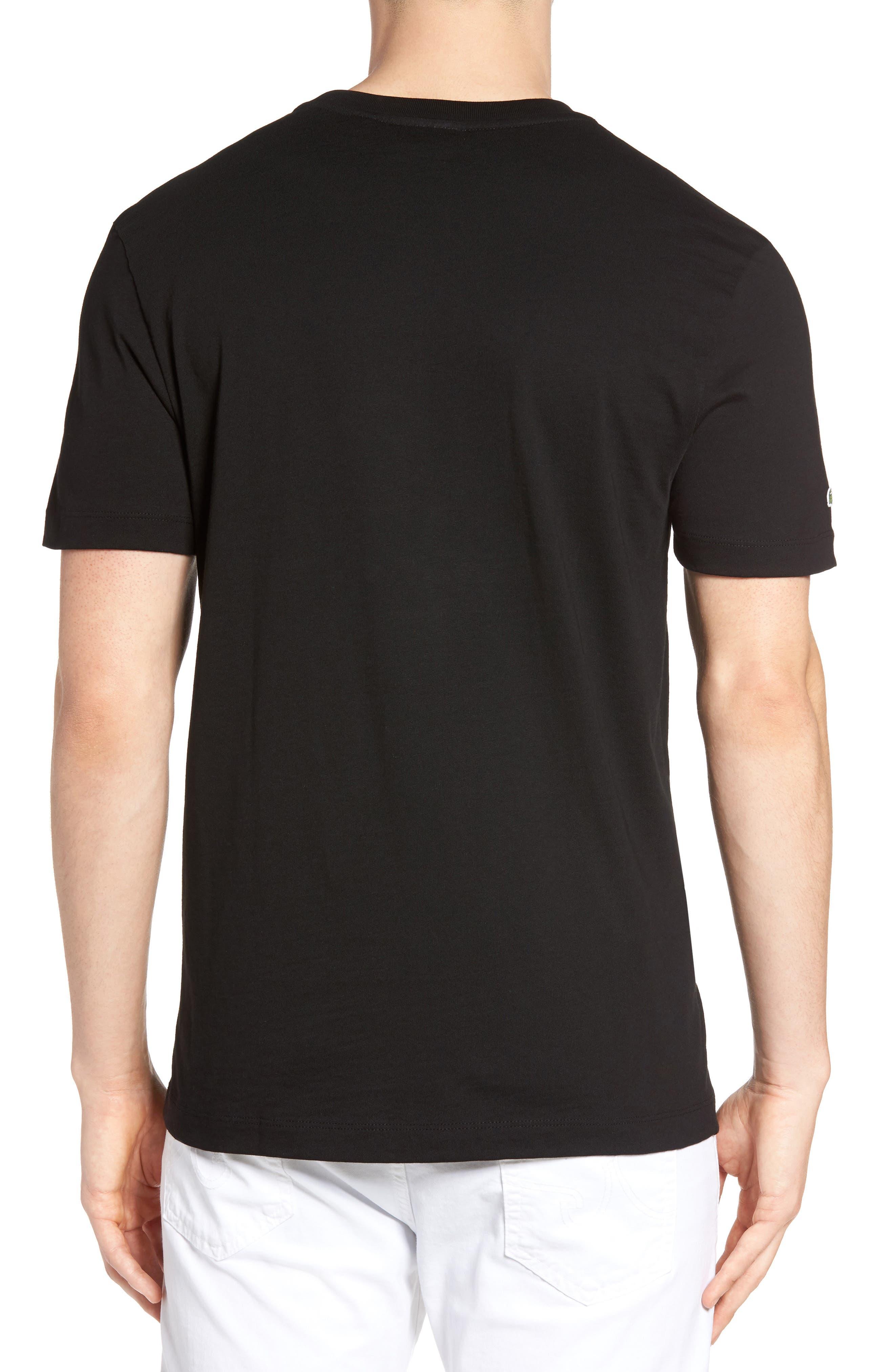 3D Logo Graphic T-Shirt,                             Alternate thumbnail 2, color,                             Black