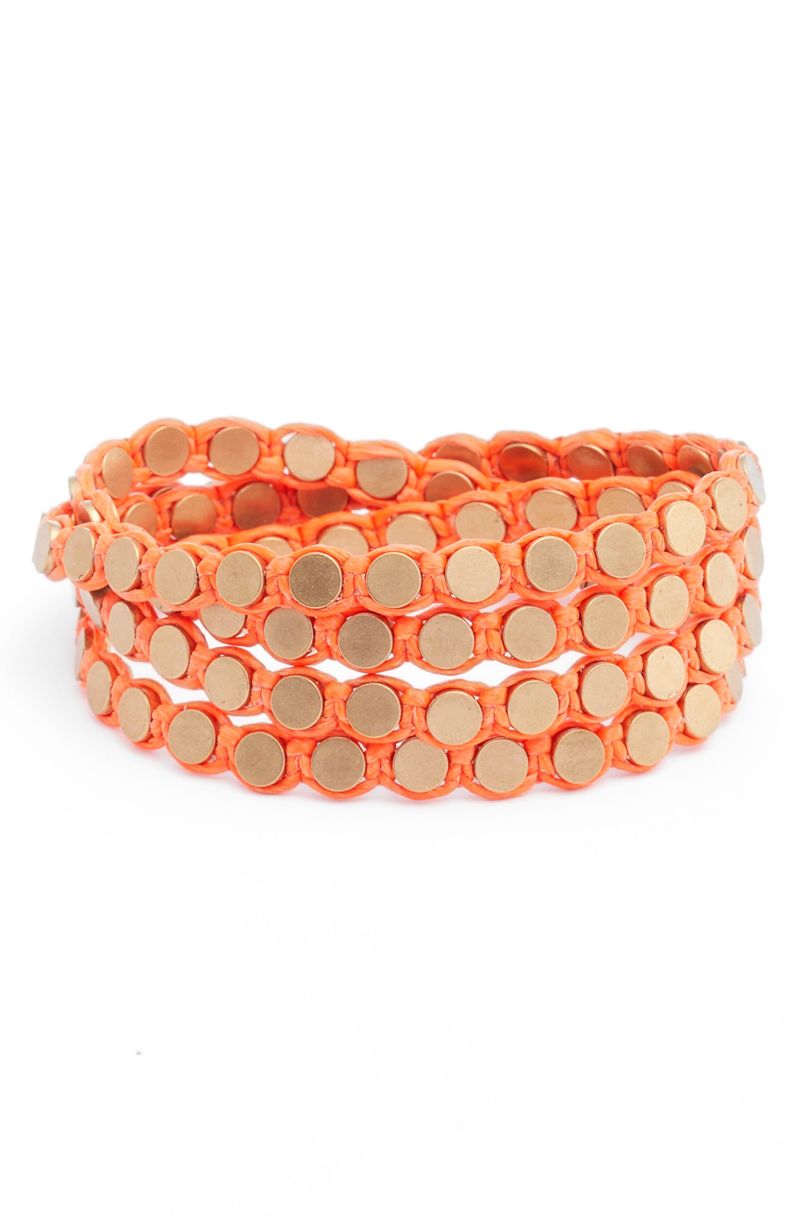 SEREFINA Wrap Disk Bracelet