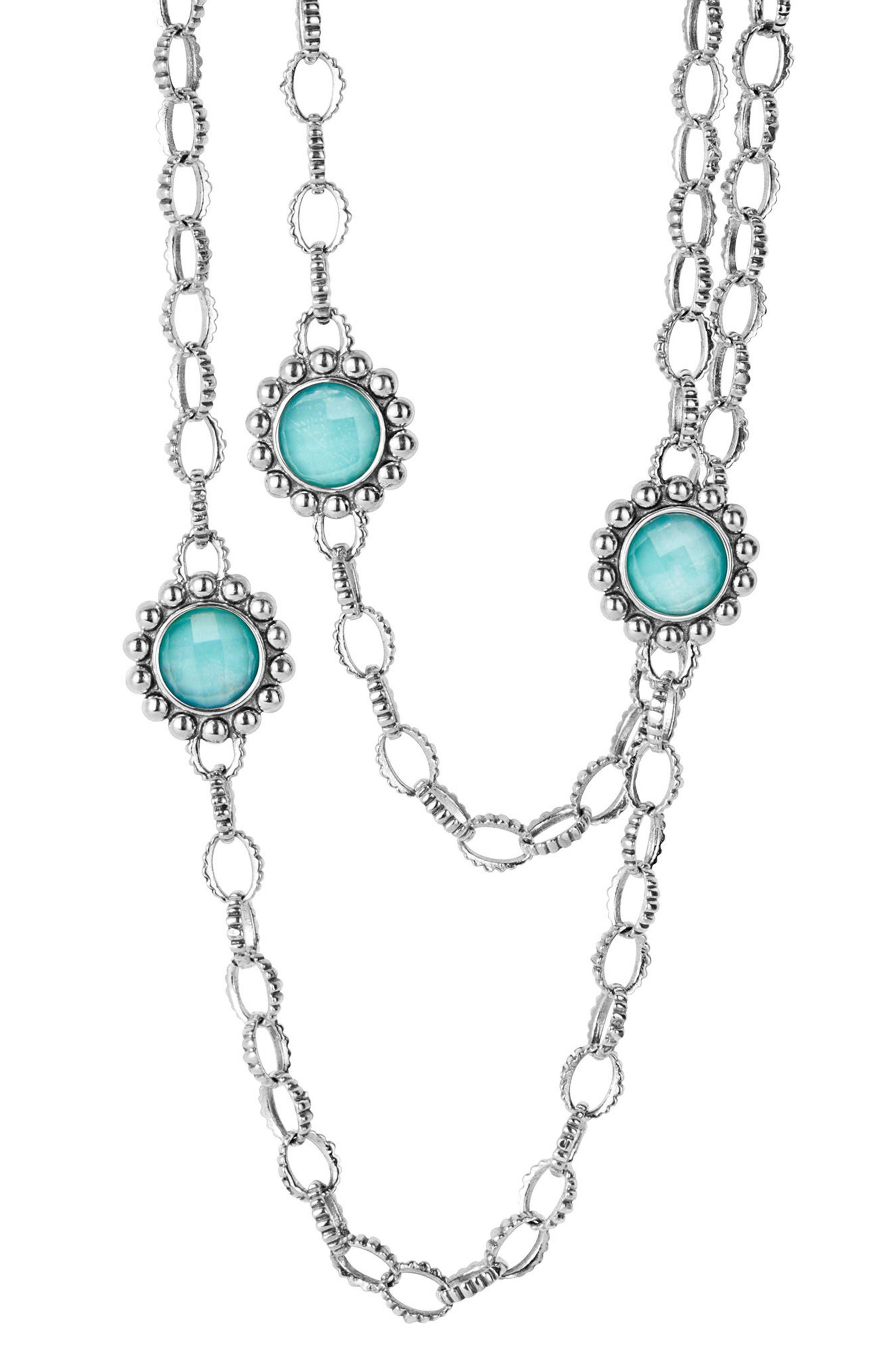 Alternate Image 1 Selected - LAGOS 'Maya' Long Station Necklace