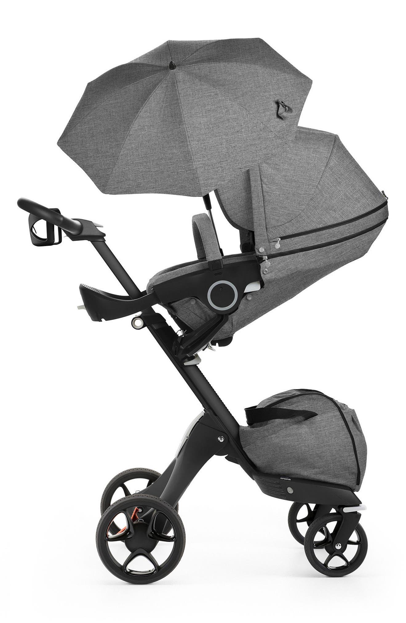 Xplory<sup>®</sup> True Black Stroller,                         Main,                         color, Black Melange