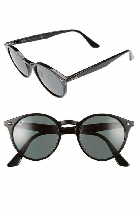 7ae7e81625 Ray-Ban Highstreet 51mm Round Sunglasses