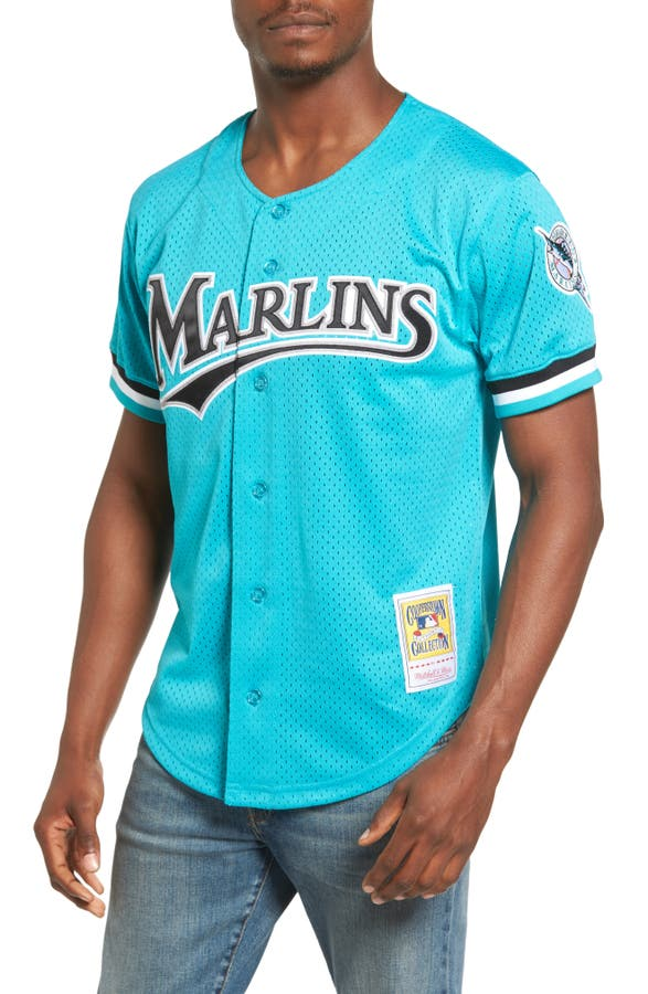 4d5e54e5a87 ... Main Image - Mitchell Ness Andre Dawson Florida Marlins Authentic Mesh  Jersey ...