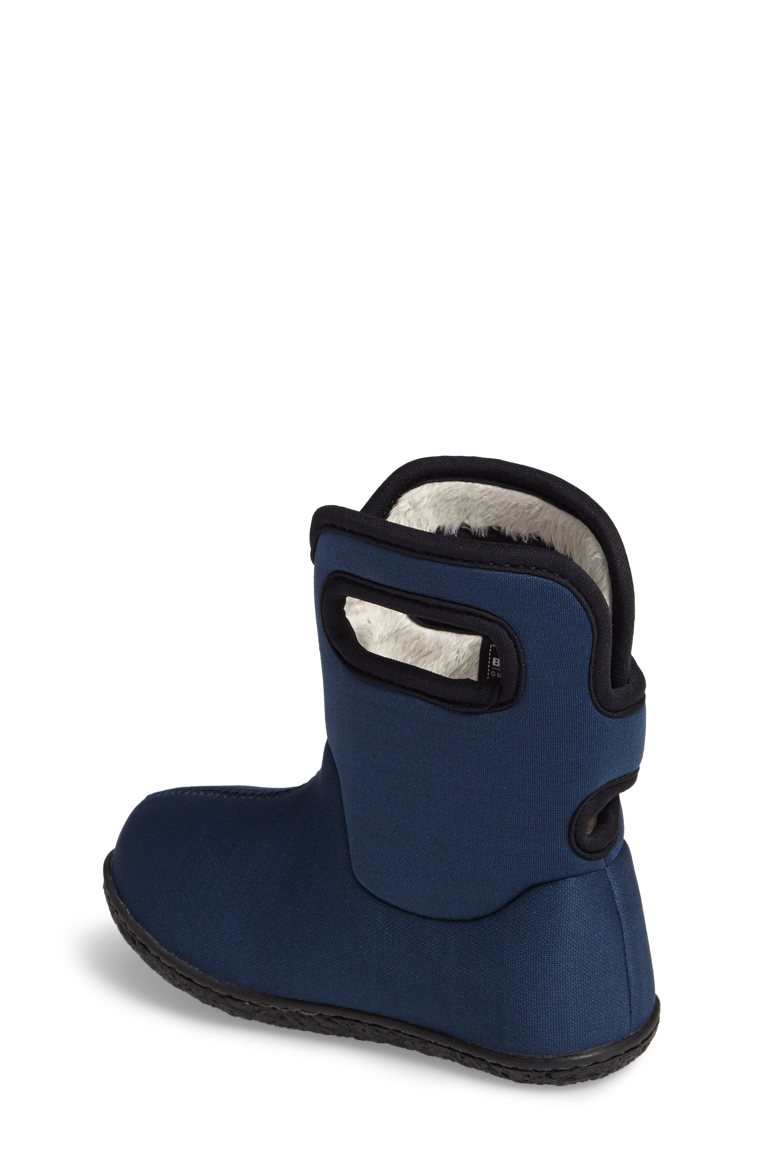 Alternate Image 2  - Bogs Classic Solid Insulated Waterproof Rain Boot (Baby, Walker & Toddler)