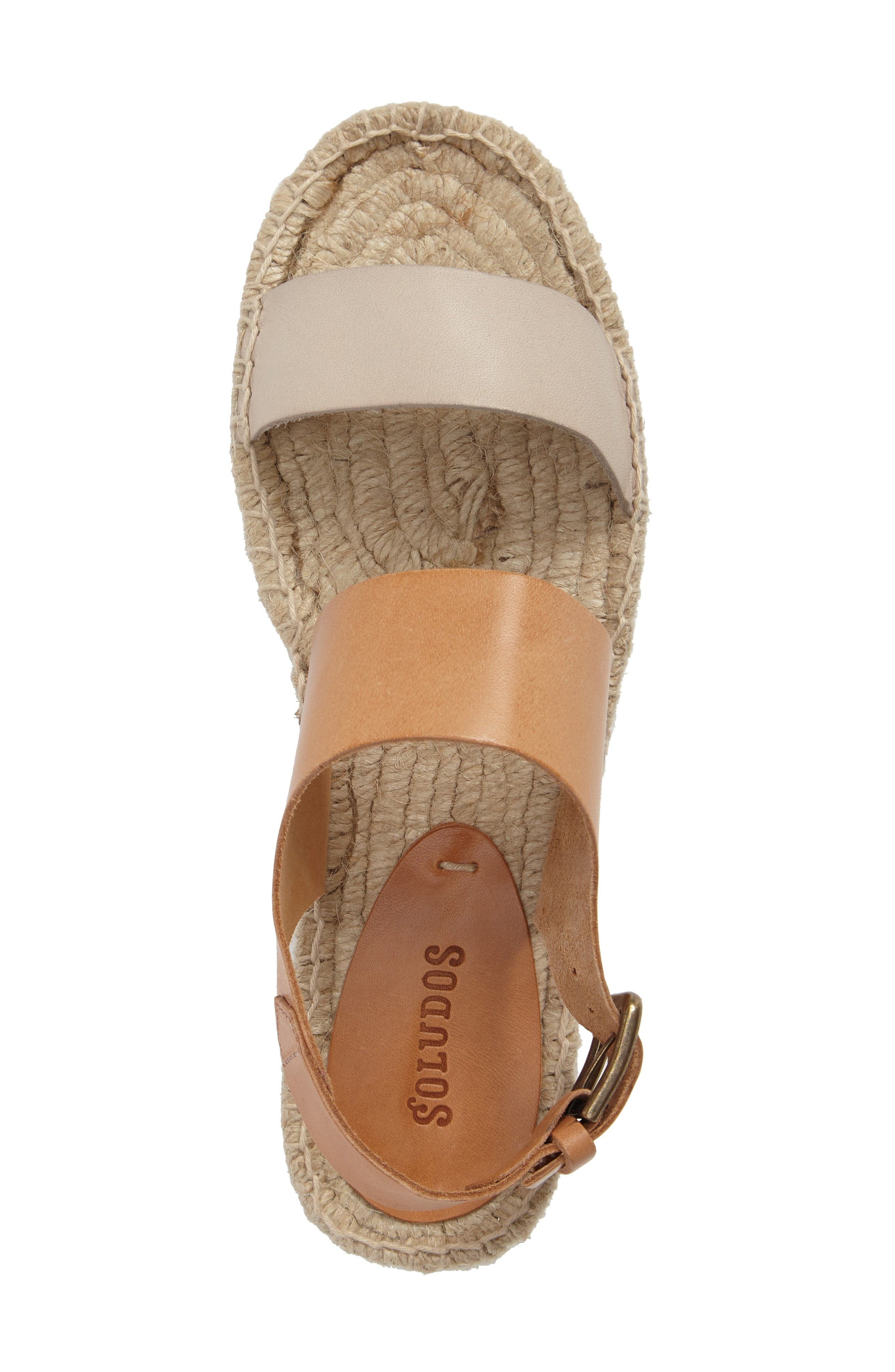 Alternate Image 5  - Soludos Platform Espadrille Sandal (Women)