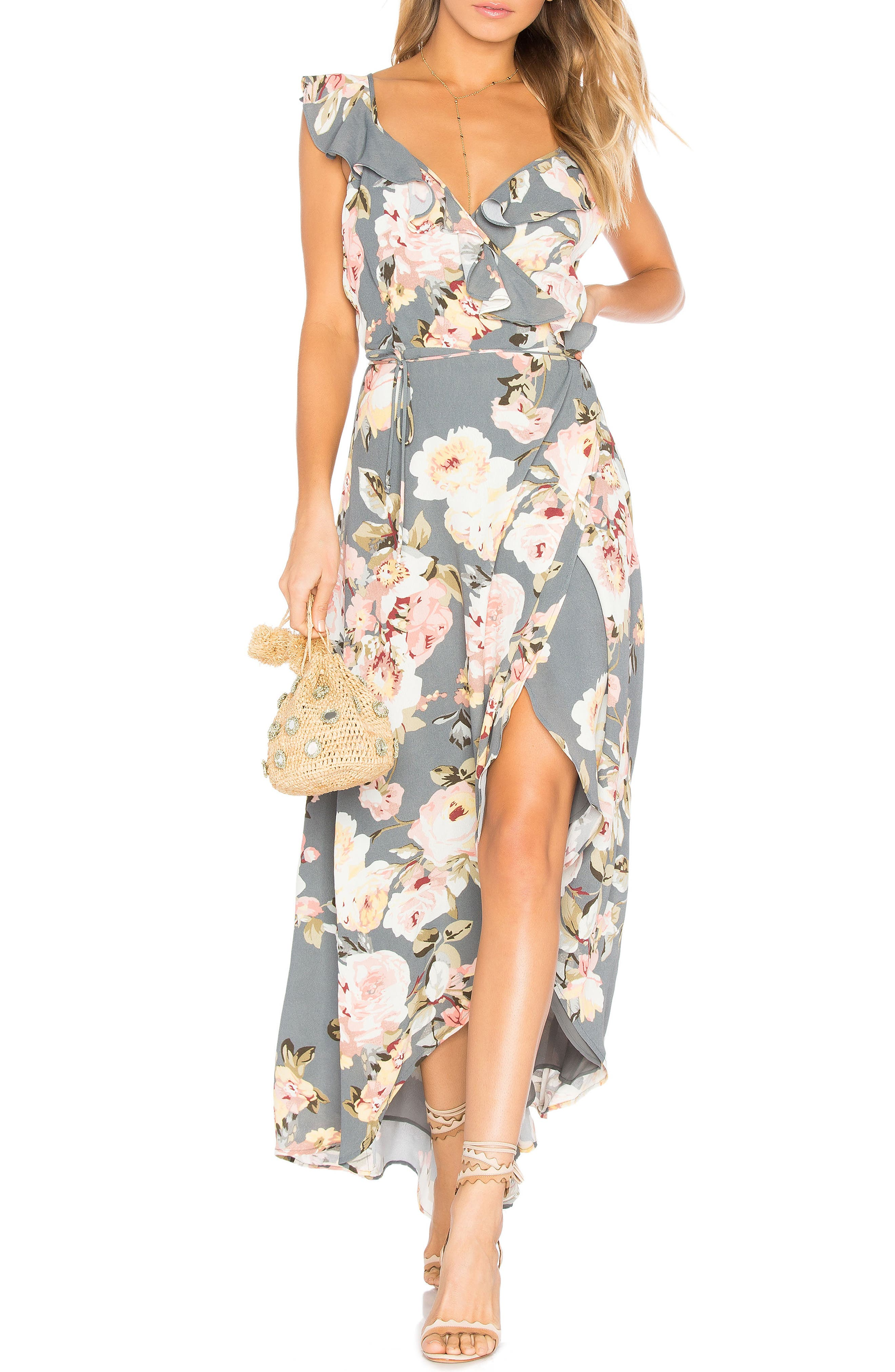 Main Image - Privacy Please Fillmore Floral Print Dress