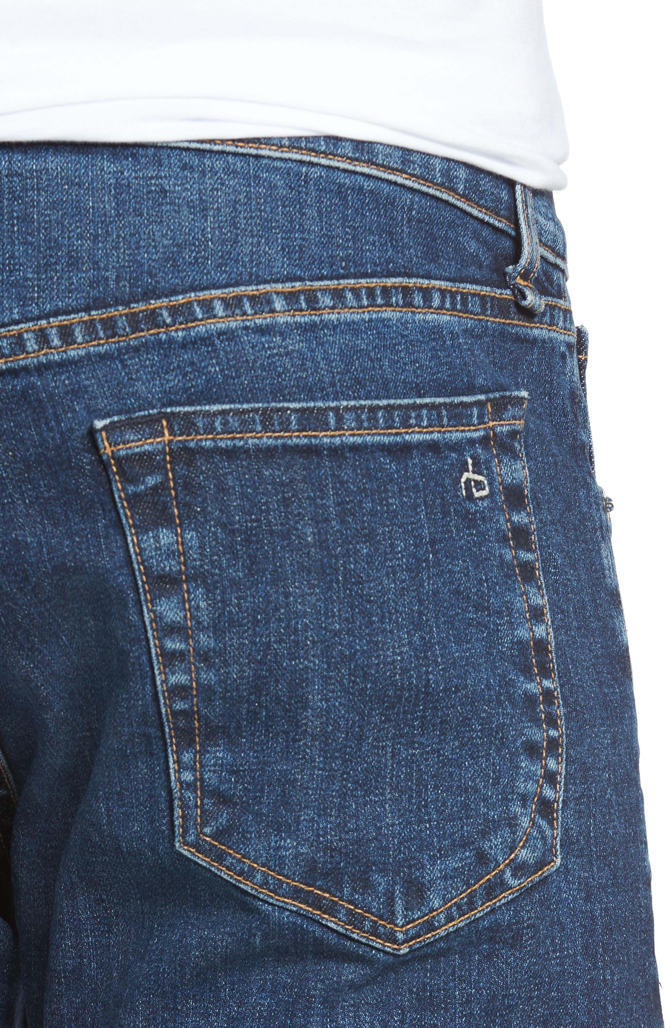 Fit 2 Slim Fit Jeans,                             Alternate thumbnail 4, color,                             Dukes