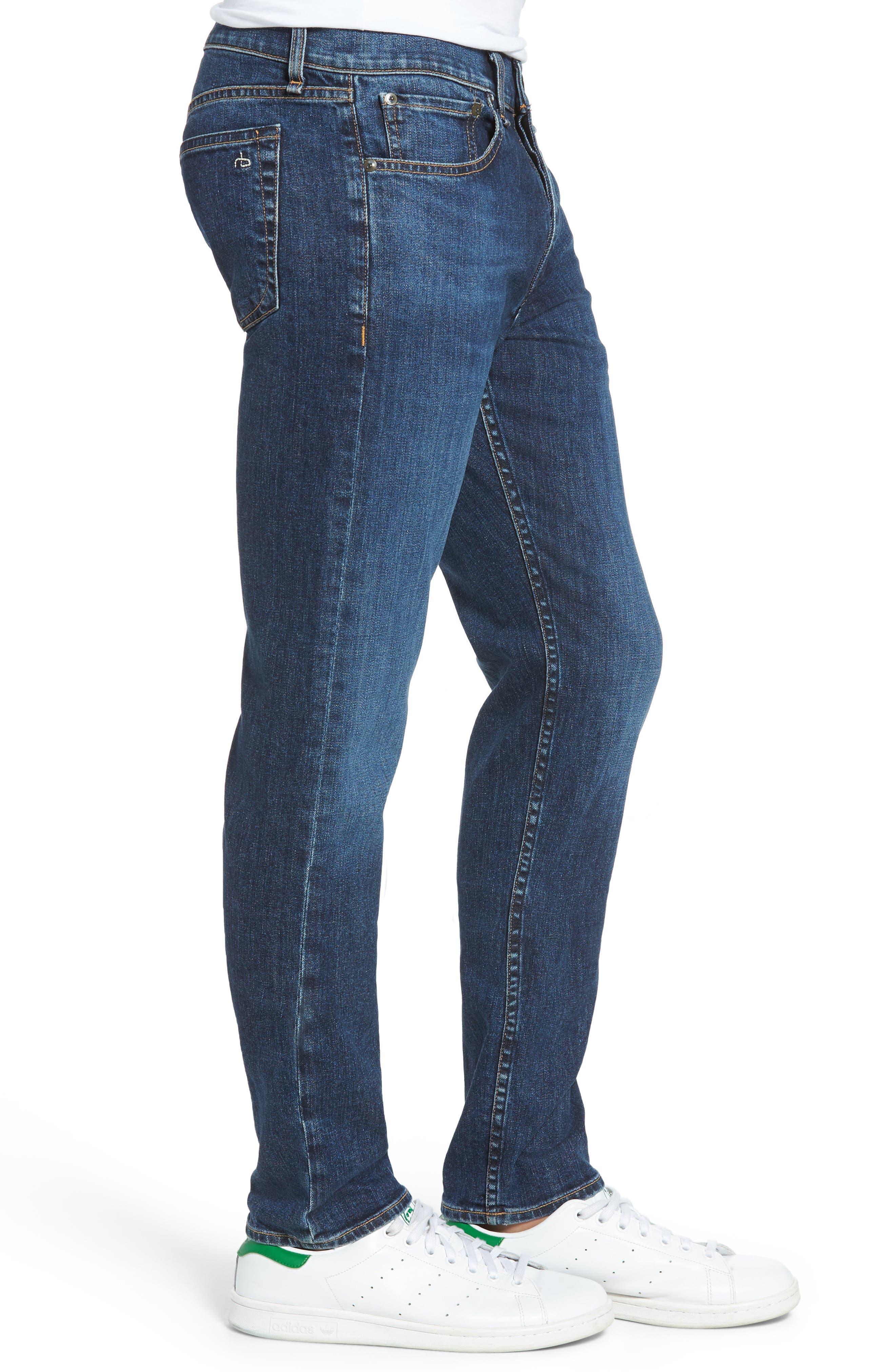 Fit 2 Slim Fit Jeans,                             Alternate thumbnail 3, color,                             Dukes