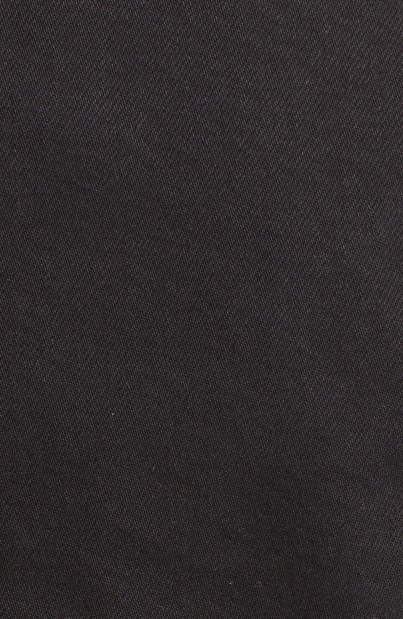 Alternate Image 3  - Alexander McQueen Peplum Denim Jacket