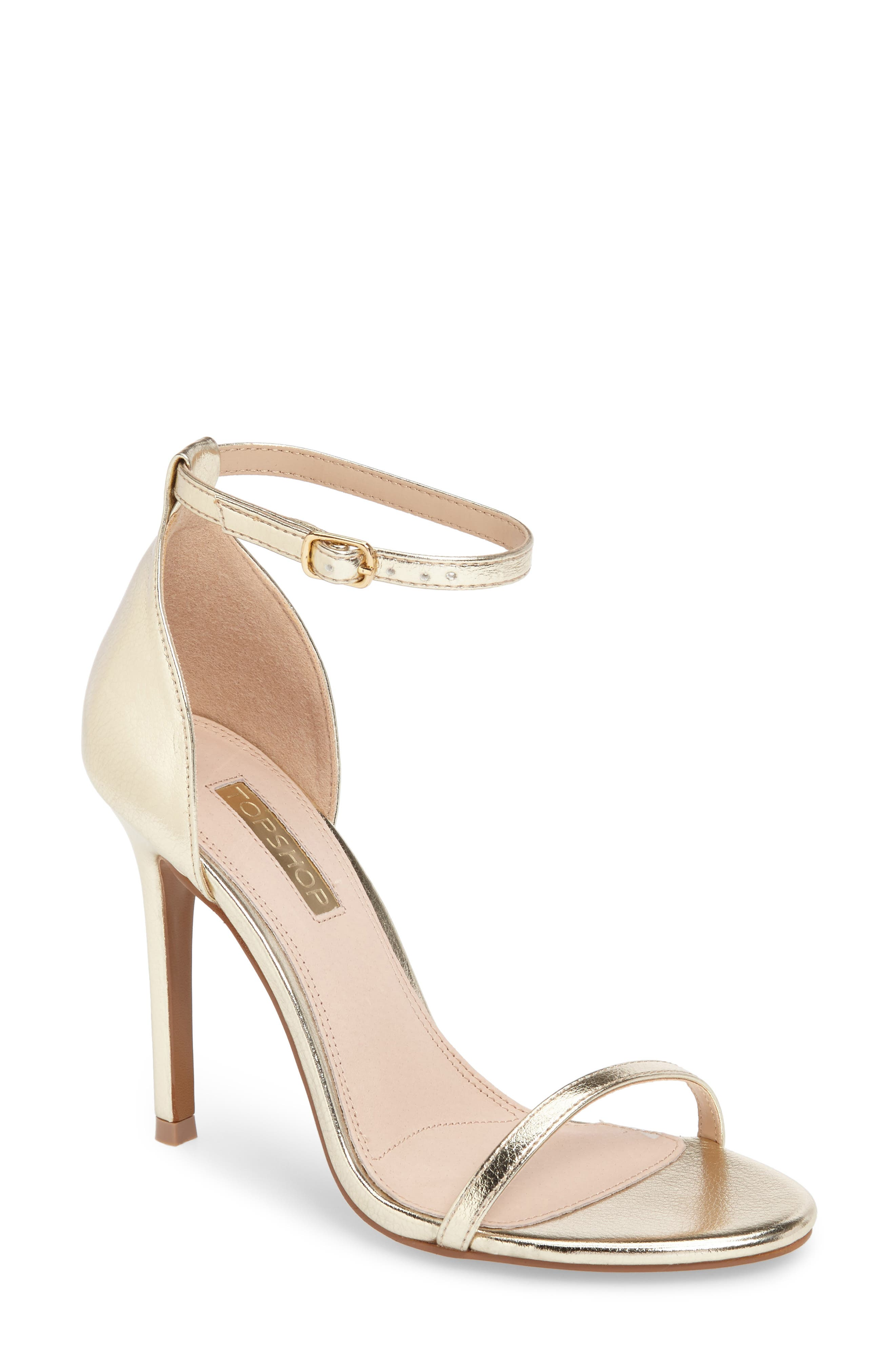 Main Image - Topshop Rosalie Ankle Strap Sandal (Women)