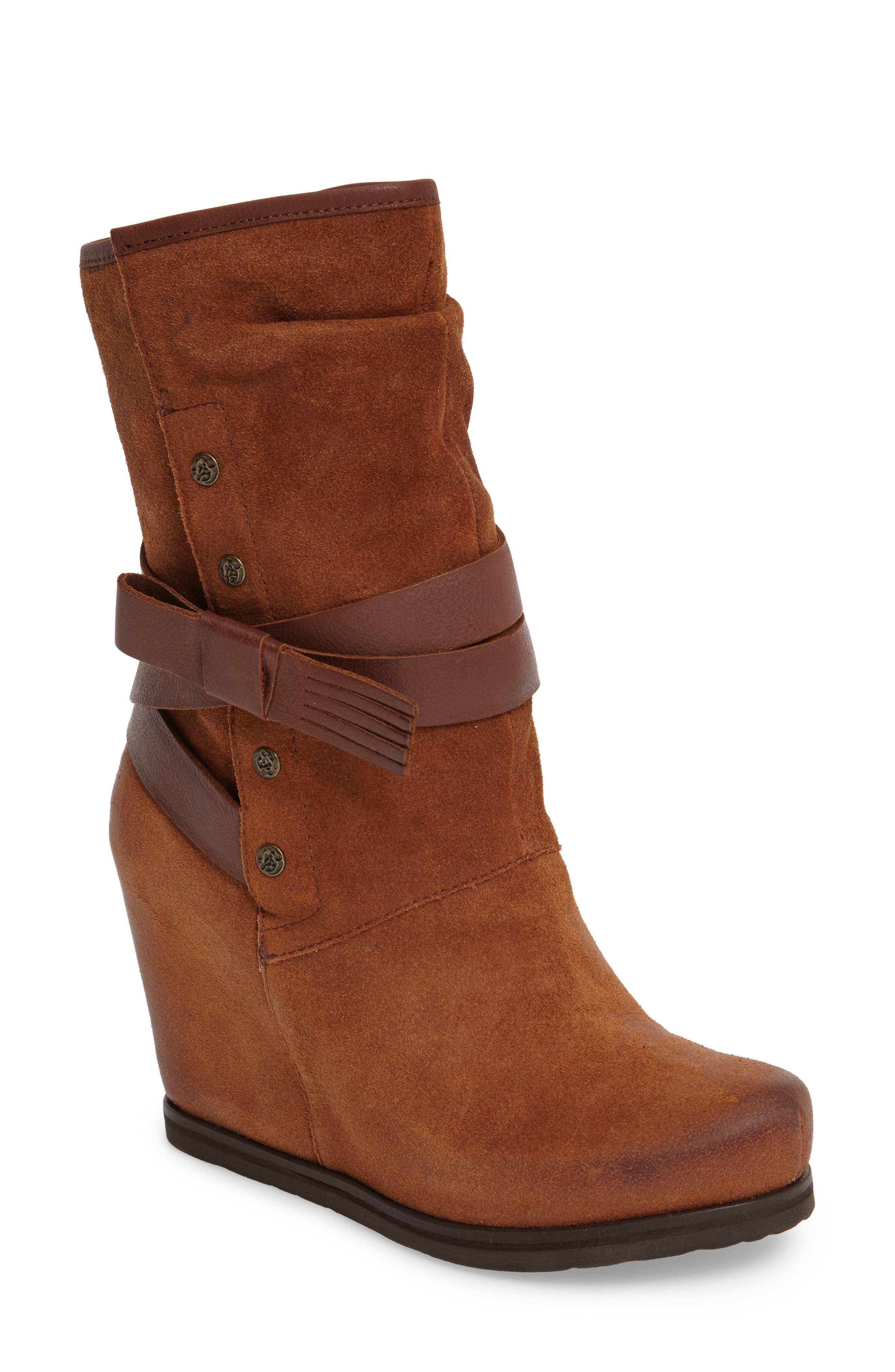 Alternate Image 1 Selected - OTBT Chakra Wedge Boot (Women)