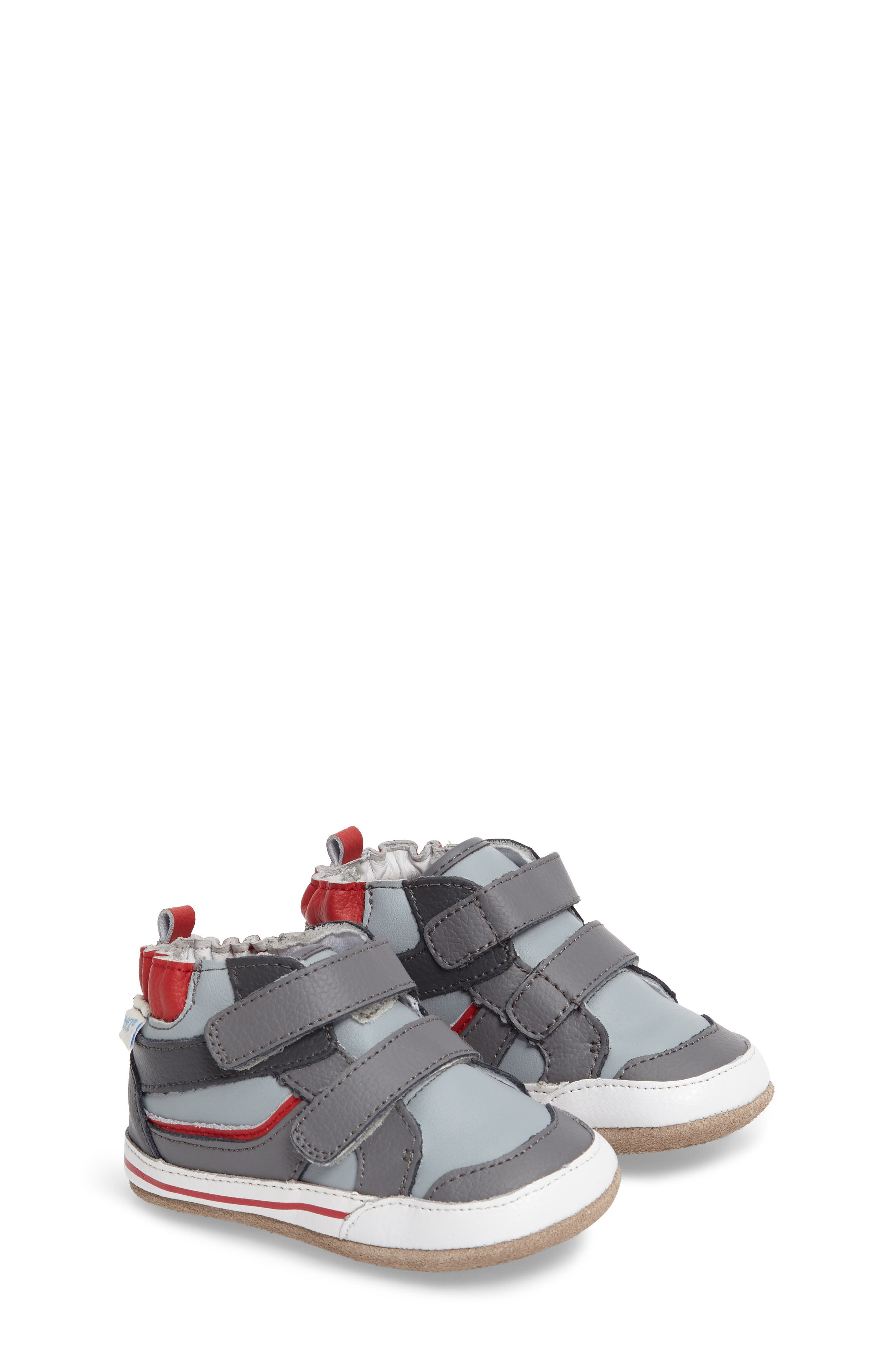 Greg Crib Shoe,                         Main,                         color, Grey
