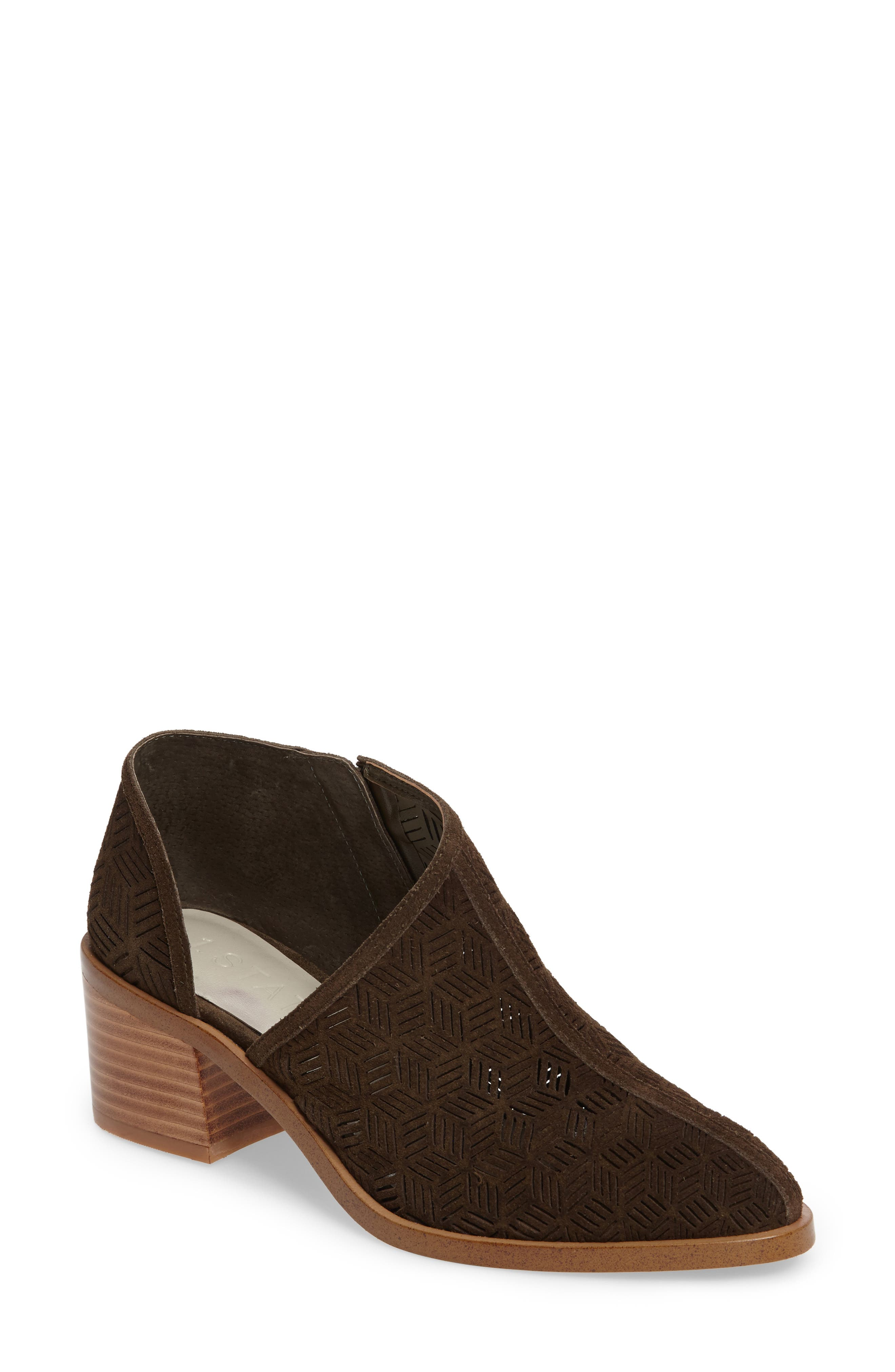Main Image - 1.STATE Iddah Perforated Cutaway Bootie (Women)