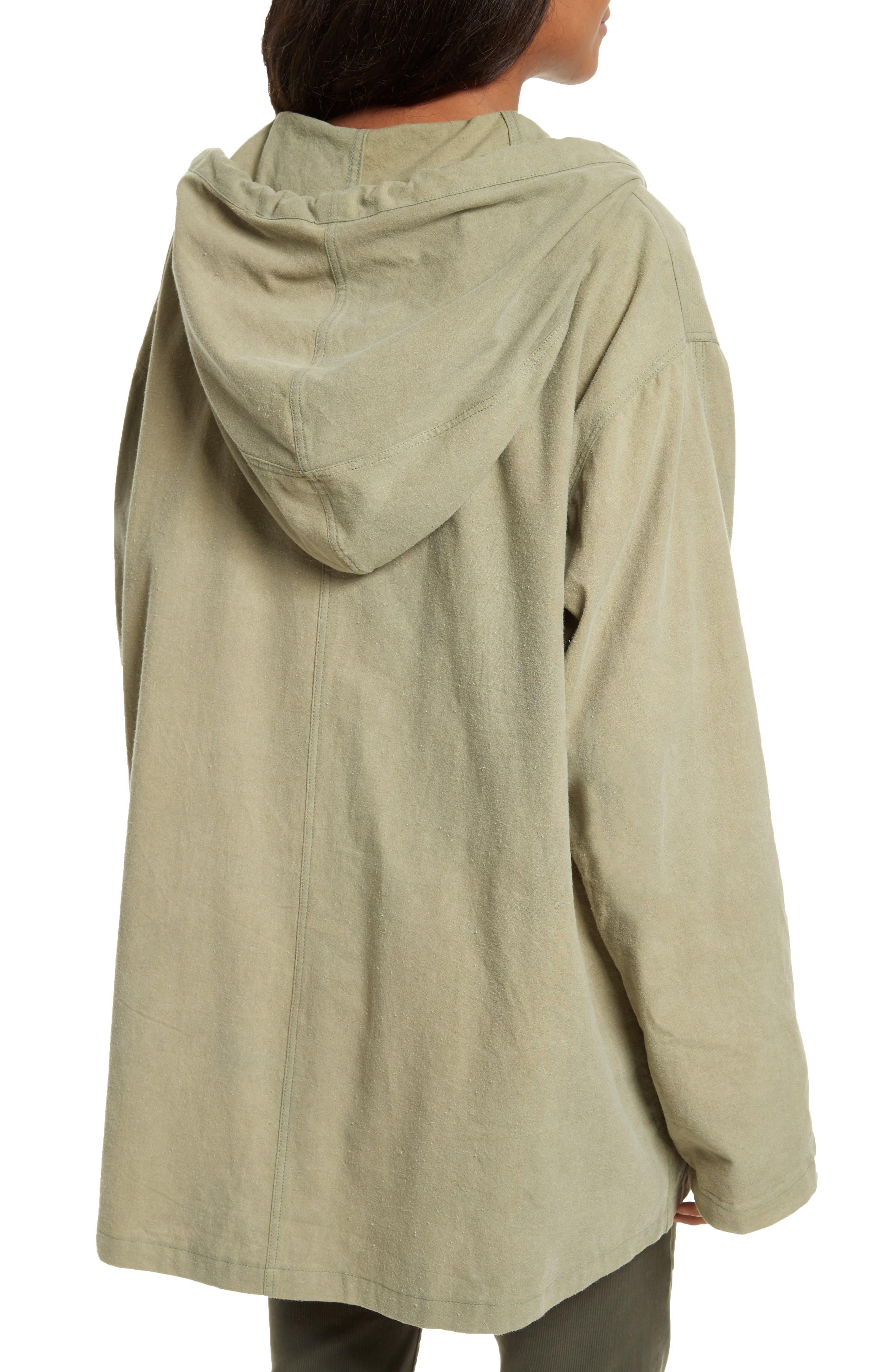 The Parka Jacket,                             Alternate thumbnail 3, color,                             Pale Army